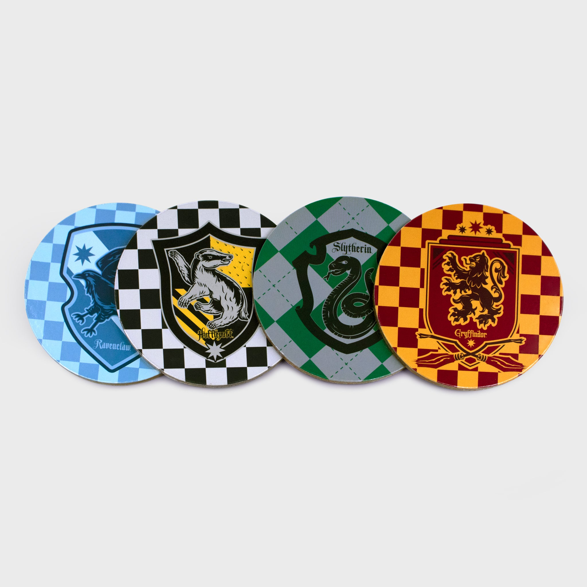 harry potter wizarding world quidditch warner brothers walmart retail box collectibles home good accessories exclusive culturefly coaster coasters set houses gryffindor slytherin hufflepuff ravenclaw
