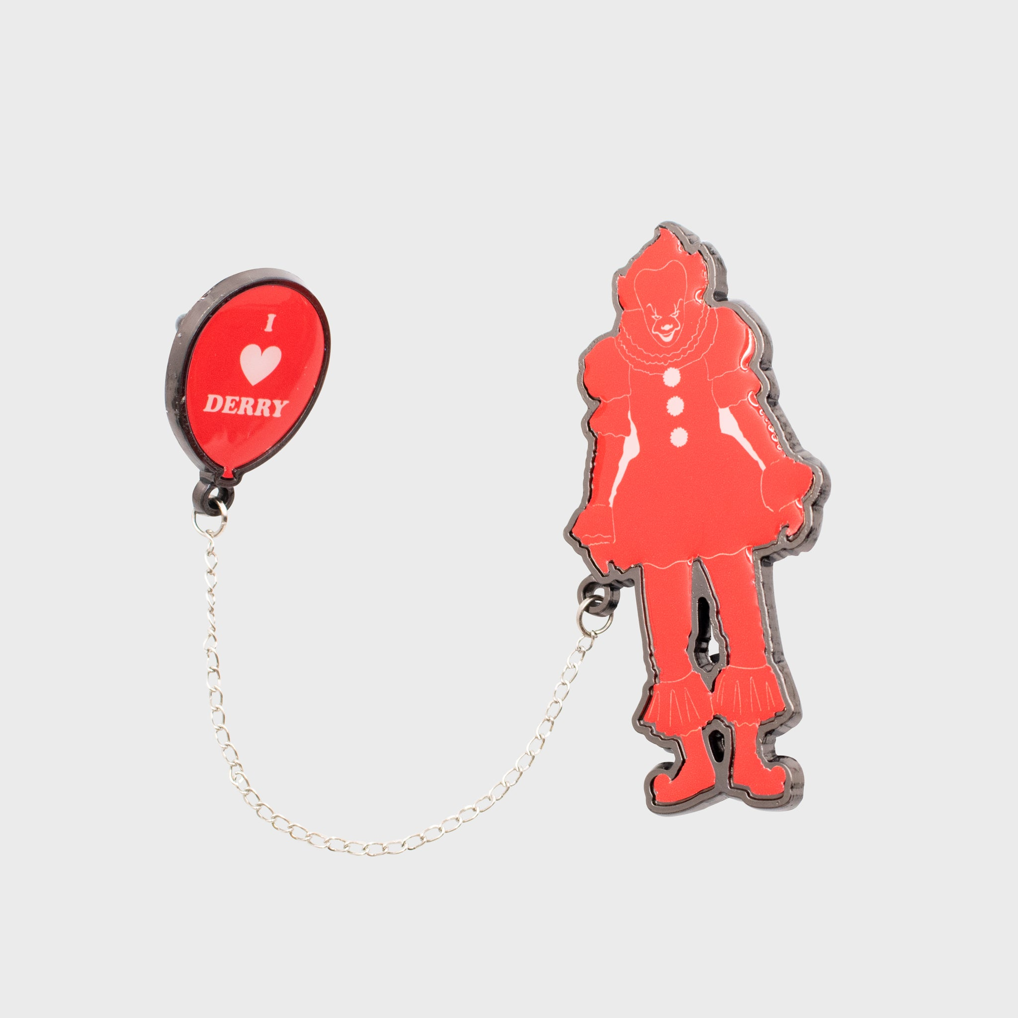 it chapter 2 clowns horror movie pennywise collectors box collectible exclusive culturefly enamel pin set