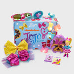 jojo siwa box nickelodeon subscription quarterly exclusive collectible bow rainbow glitter pink purple dance bowbow culturefly