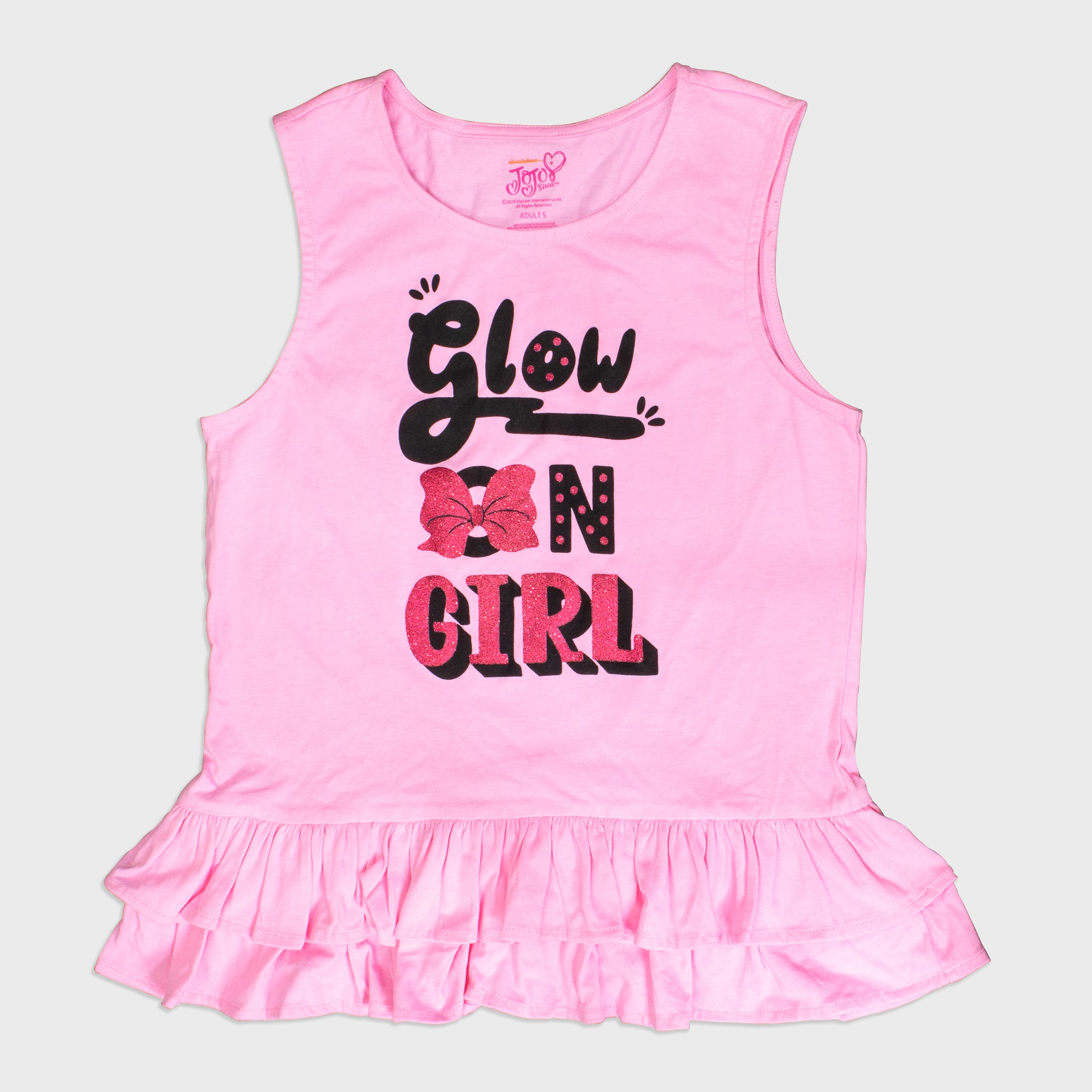jojo siwa box collectible apparel tank top t-shirt cute bows nickelodeon