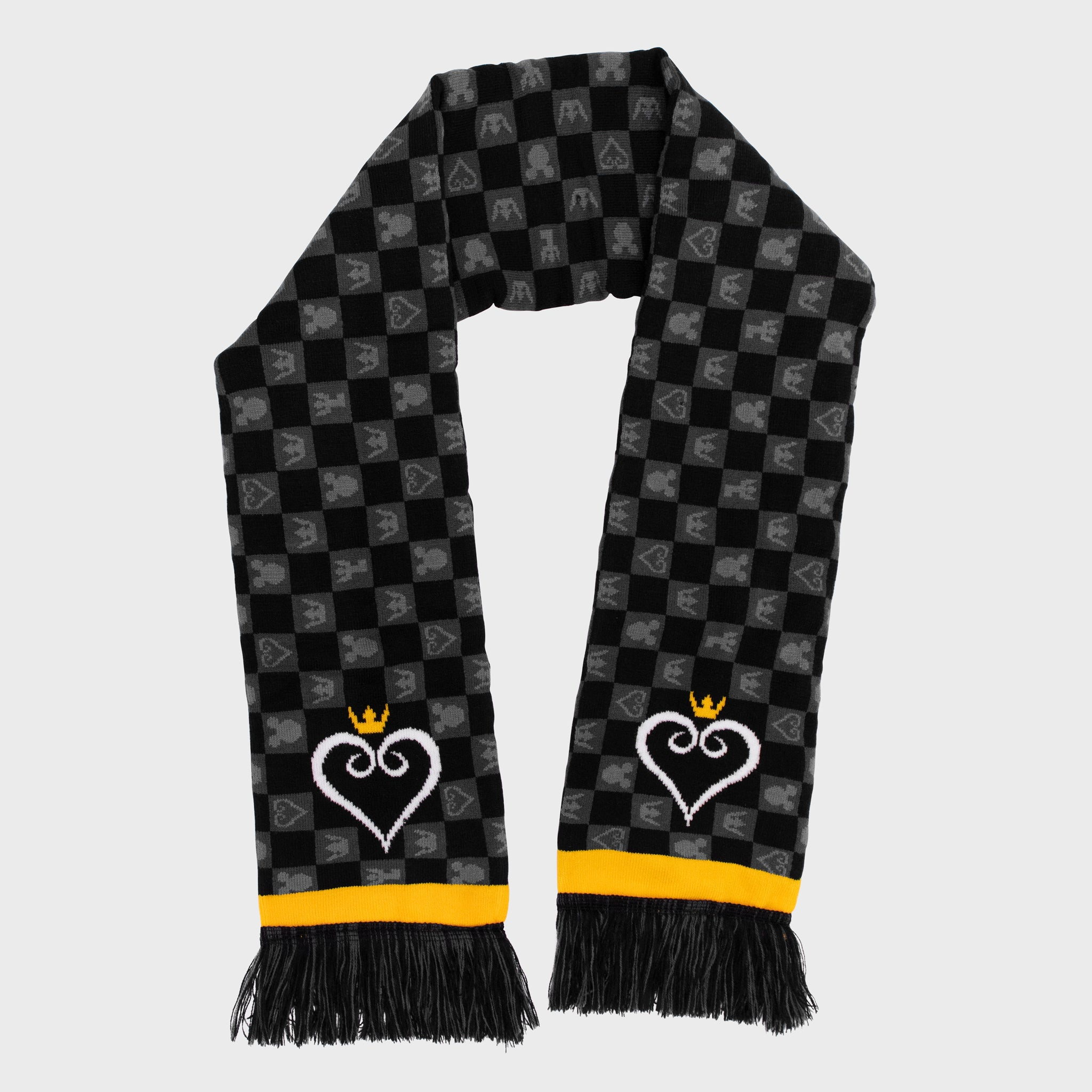 kingdom hearts disney square enix gaming video game collector box accessories exclusive collectible scarf winter cold culturefly