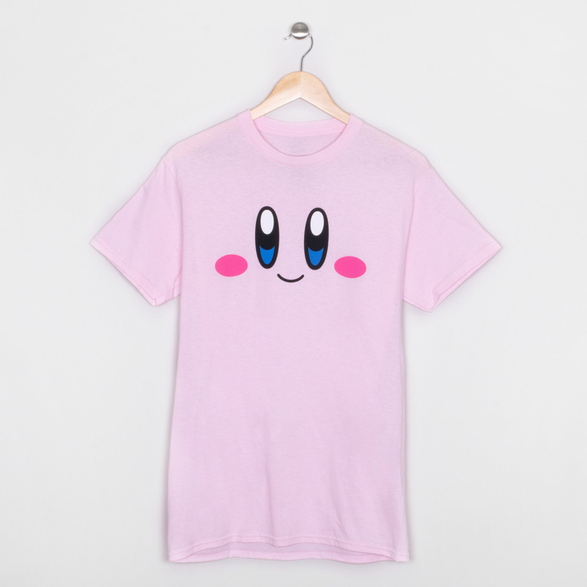 kirby pink face nintendo video games gaming t-shirt apparel shirt culturefly