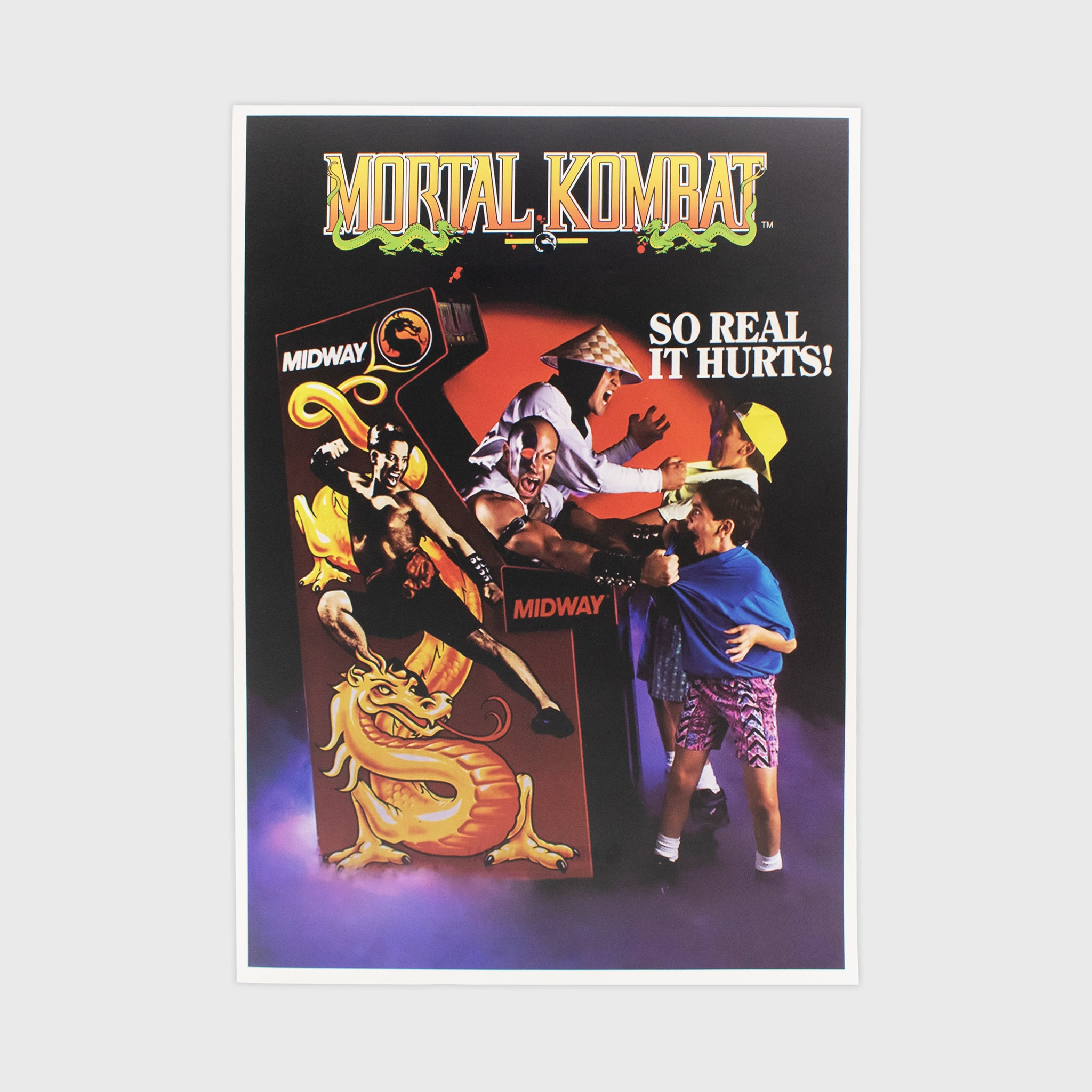 mortal kombat collector box collectible exclusive poster art print culturefly