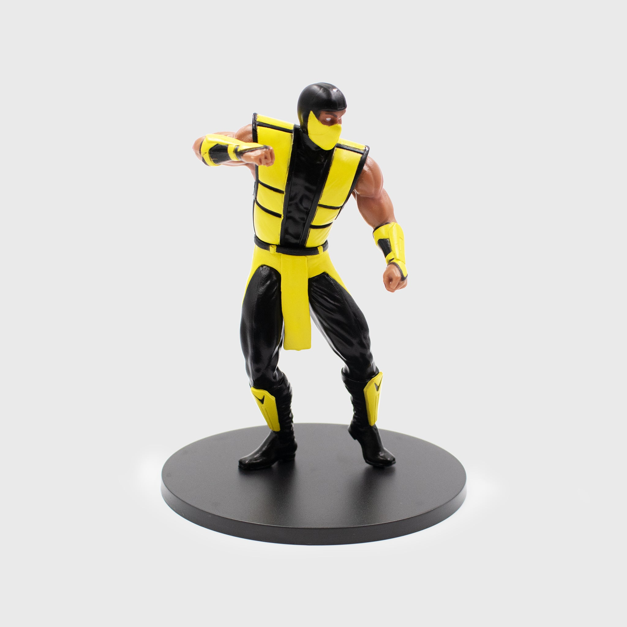 mortal kombat collector box collectible exclusive scorpion vinyl figure culturefly