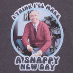 mr. rogers snappy new day throwback nostalgia nostalgic childhood short sleeves t-shirt shirt graphic tee culturefly