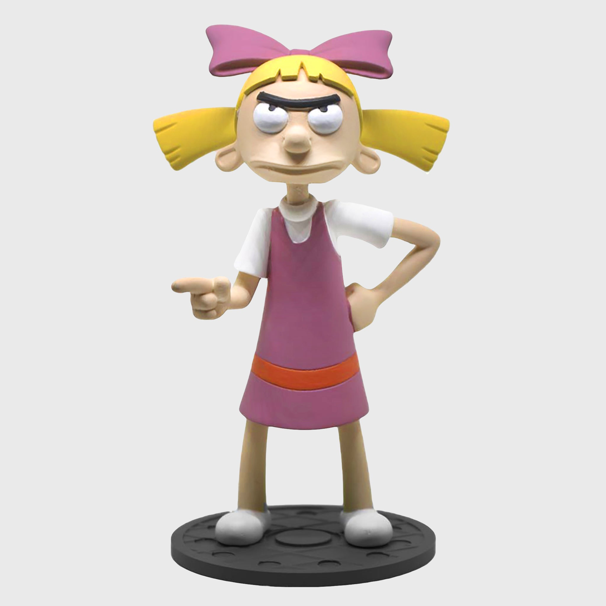nick box nickelodeon collectible helga bobblehead figurine hey arnold 90s cartoons 90s kids culturefly