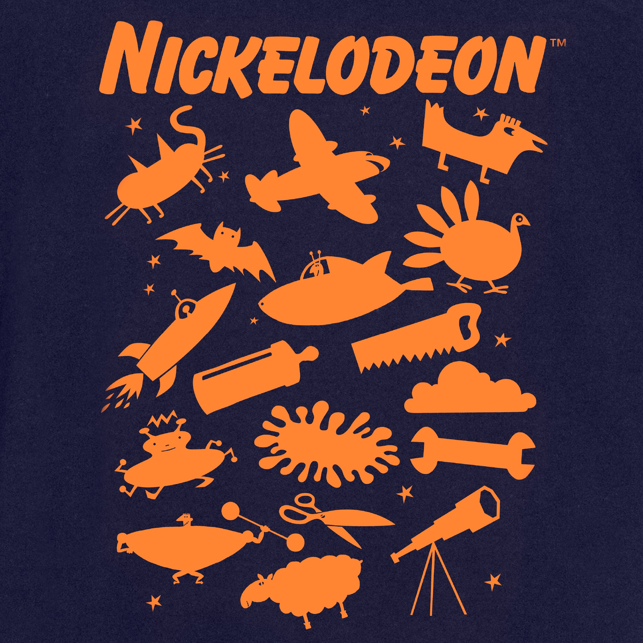 nickelodeon nick classic bumper 90s kids apparel t-shirt graphic shirt culturefly