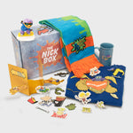the nick box nickelodeon 90s kids 90s cartoons nostalgia throwback nostalgic classic subscription quarterly exclusive limited edition collectible reptar rugrats rocket power ren and stimpy rocko's modern life catdog hey arnold culturefly