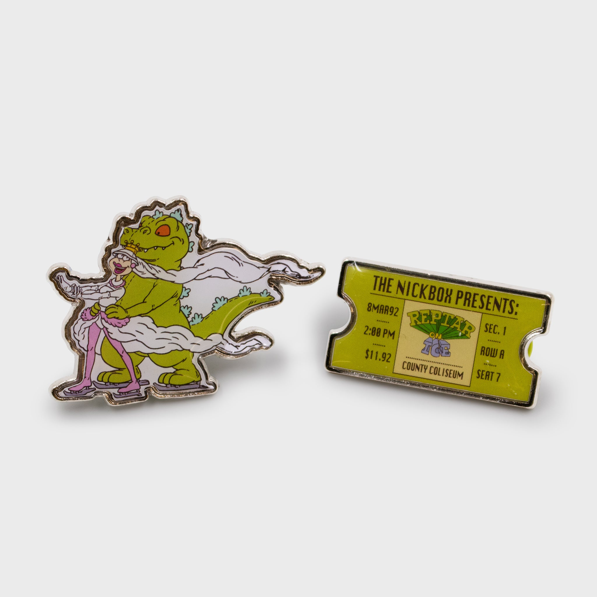 the nick box nickelodeon 90s kids 90s cartoons nostalgia throwback nostalgic classic subscription quarterly exclusive limited edition collectible reptar rugrats enamel pin culturefly