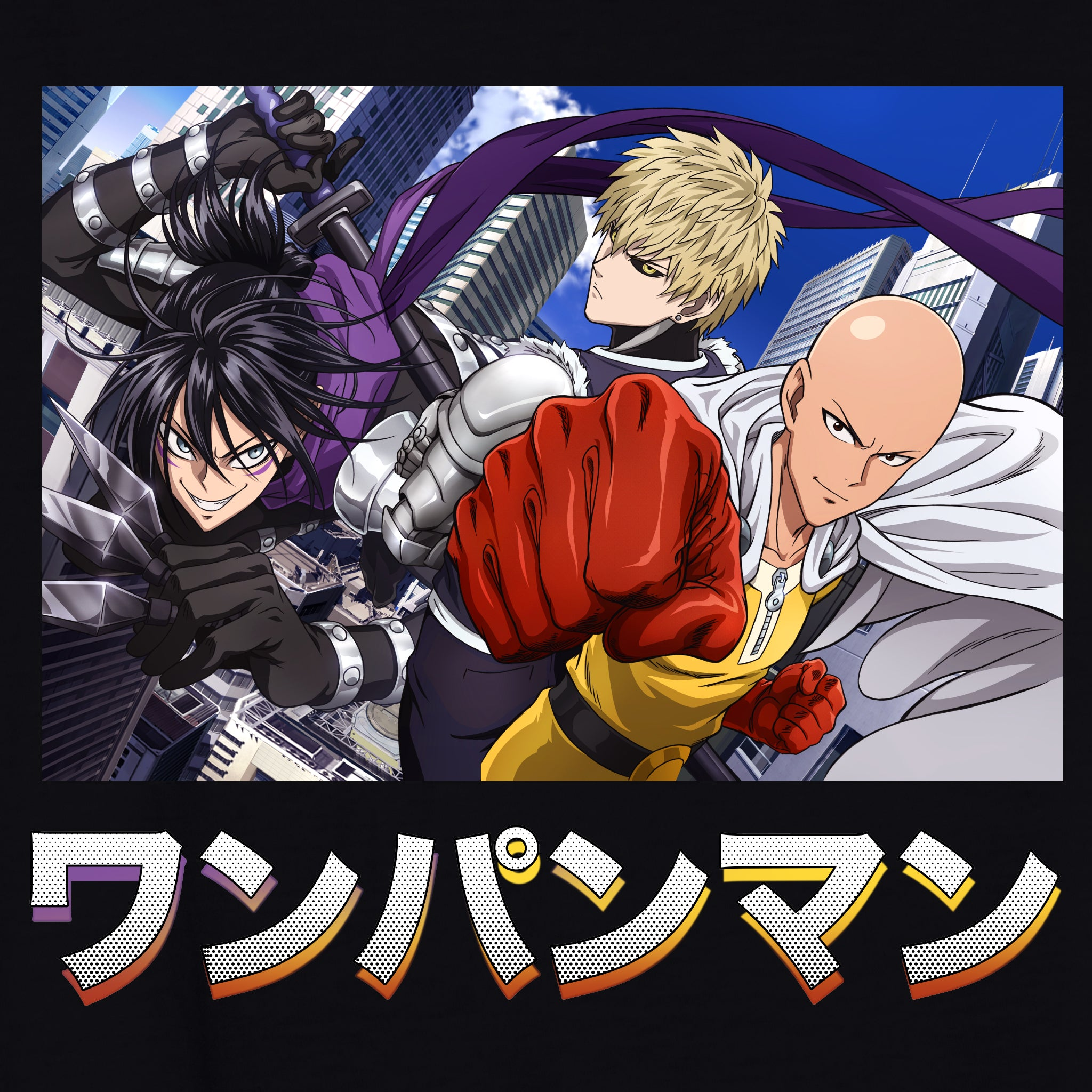 One Punch Man - Trio T-Shirt