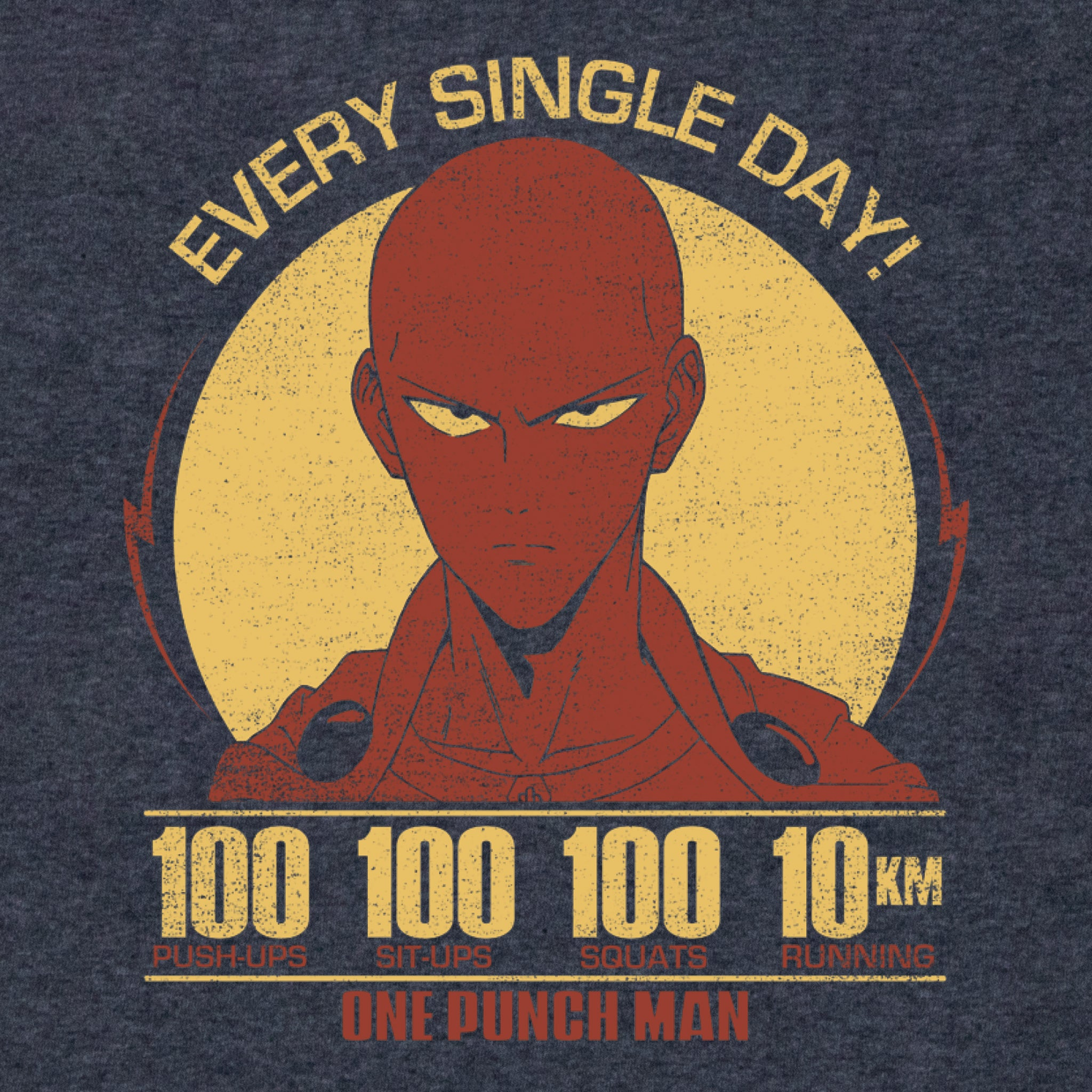one punch man saitama anime graphic t-shirt apparel shirt culturefly