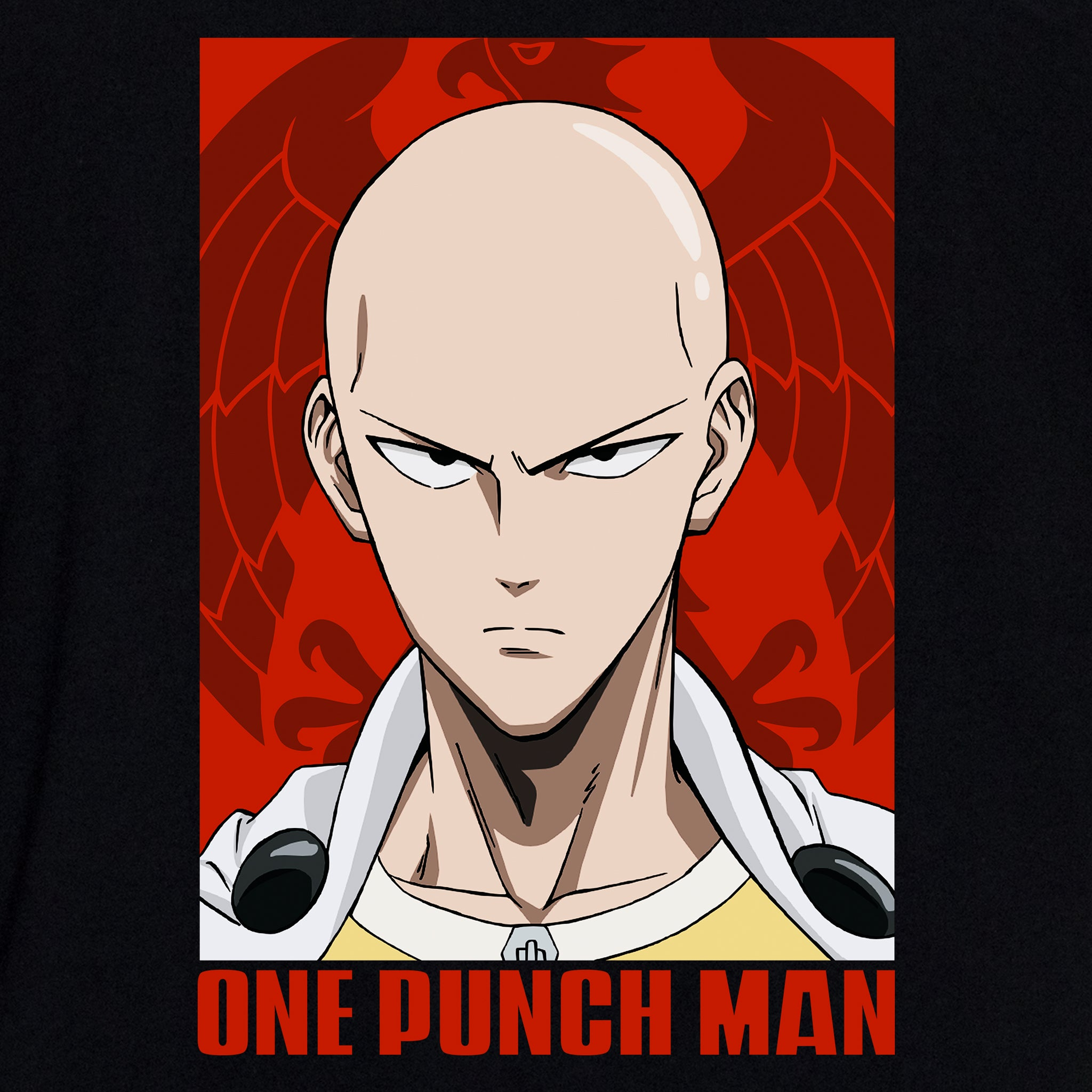 one punch man saitama anime face graphic apparel t-shirt shirt culturefly
