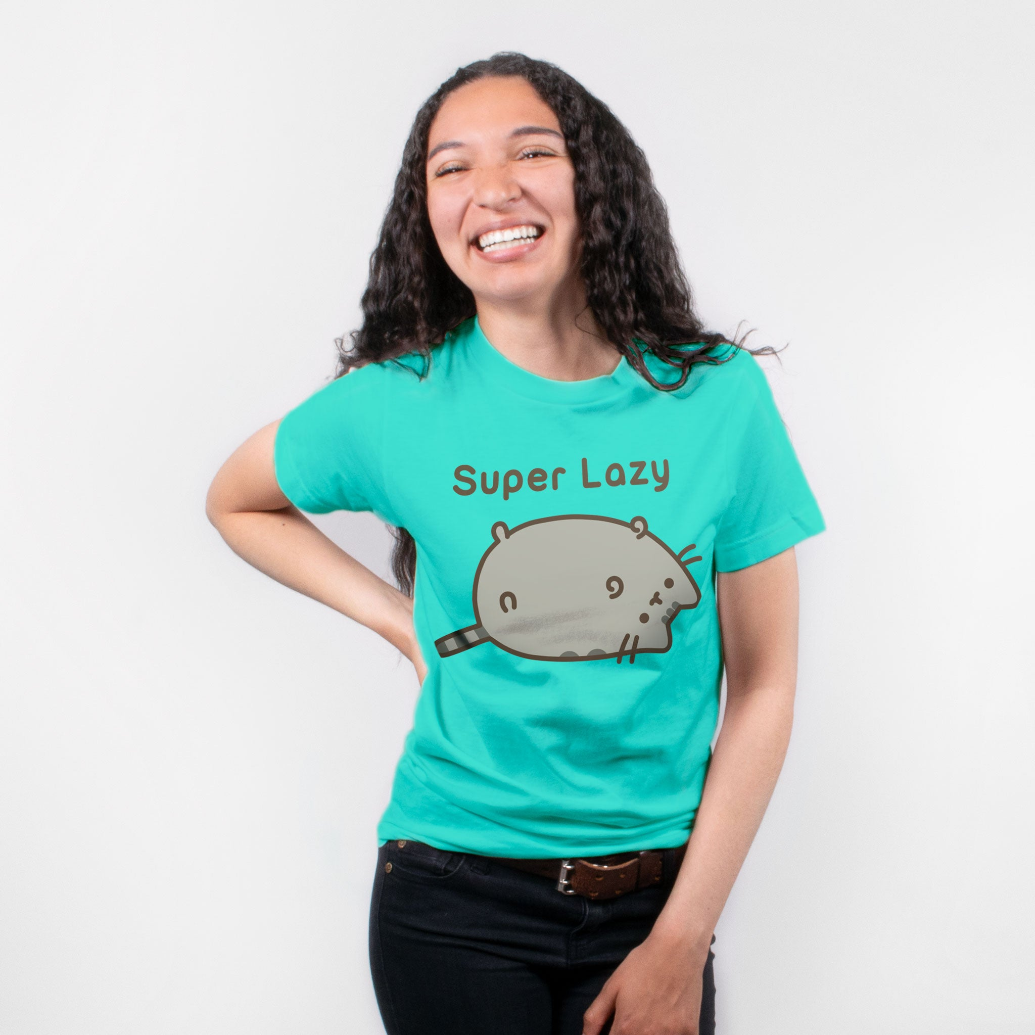 Pusheen - Super Lazy Junior's T-Shirt