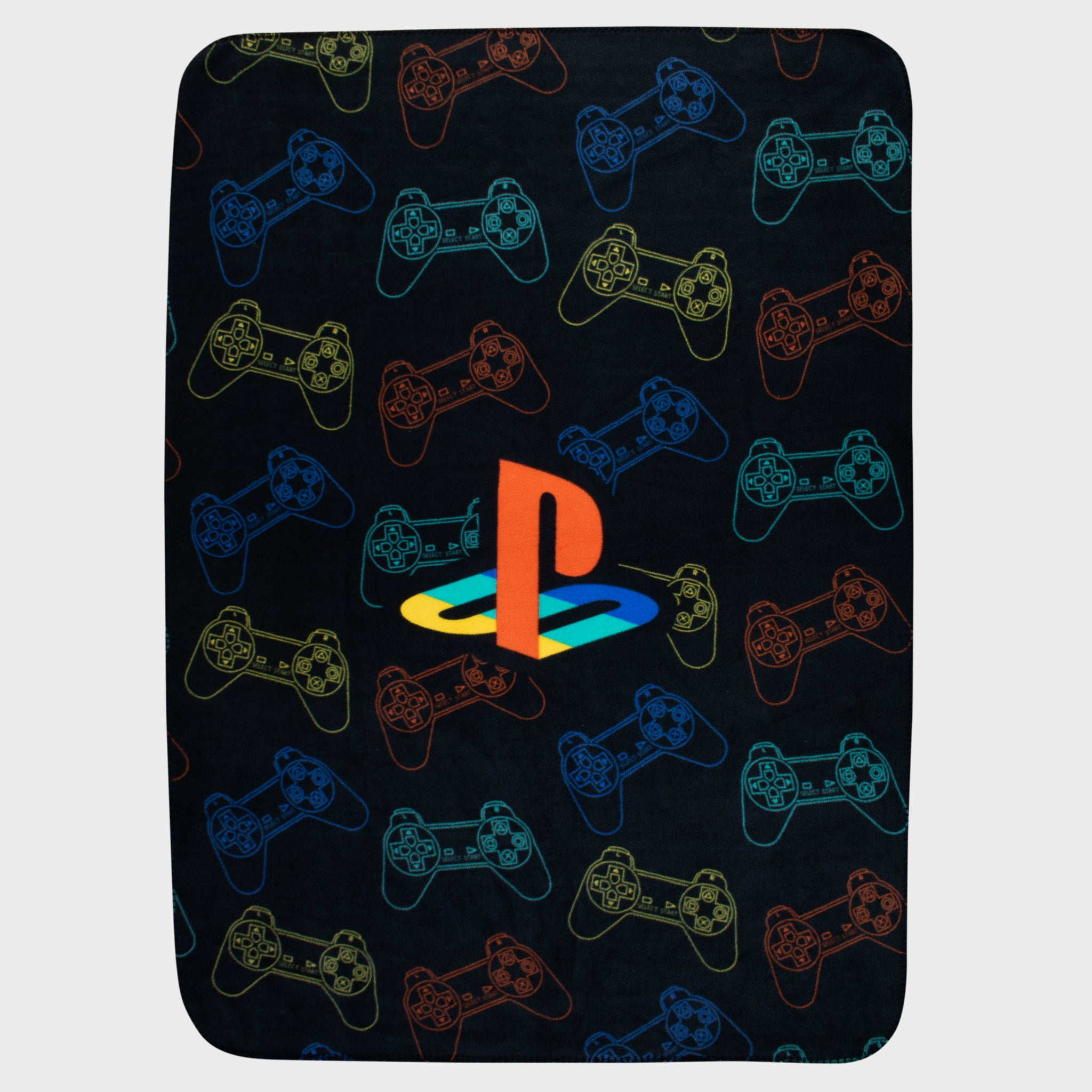 playstation ps4 ps video games console classic old school retro 90s gamestop retail box accessories collectibles exclusive culturefly throw blanket