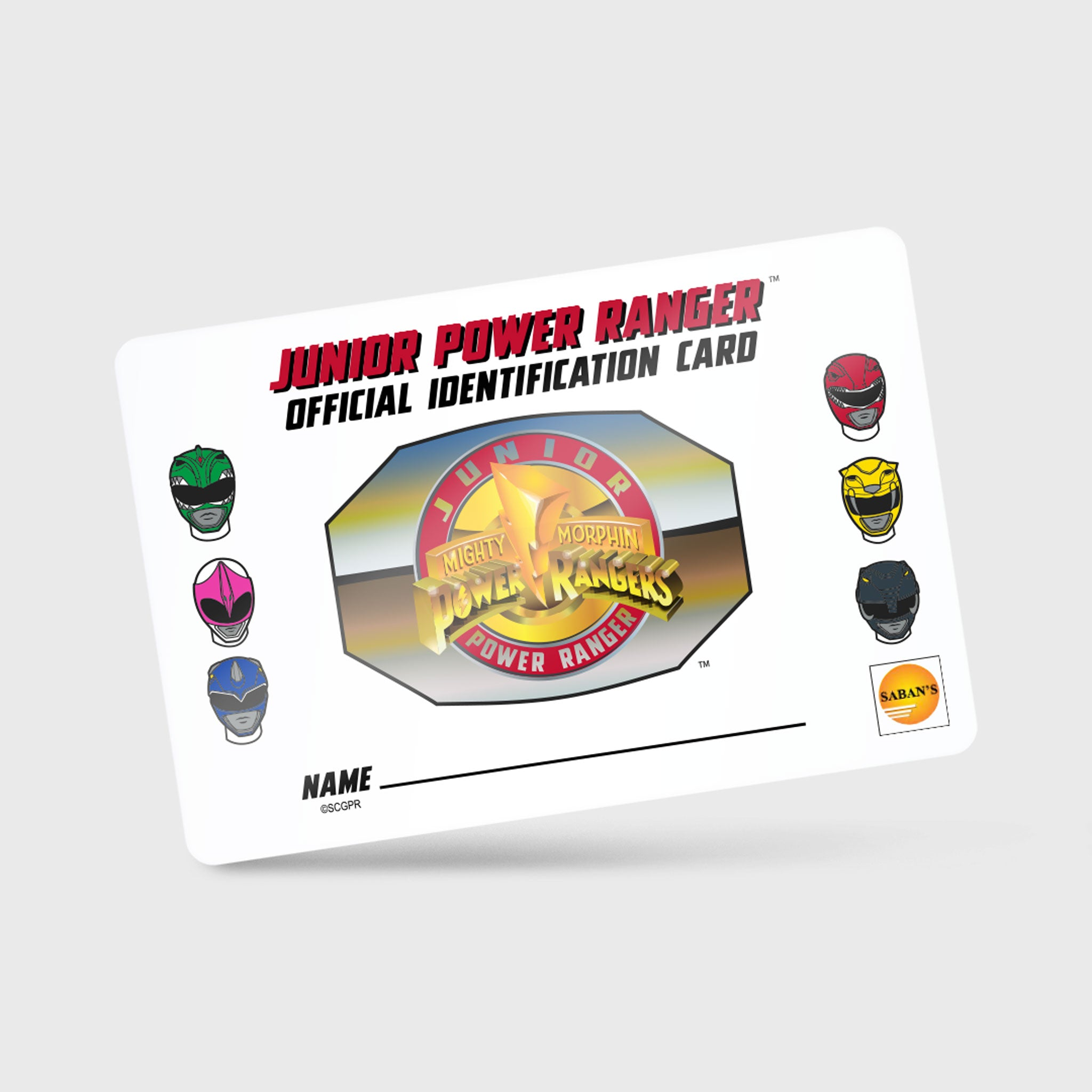 power rangers mighty morphin mmpr 90s kids green ranger black ranger blue ranger red ranger yellow ranger pink ranger exclusive gamestop retail box collectibles culturefly junior membership identification card