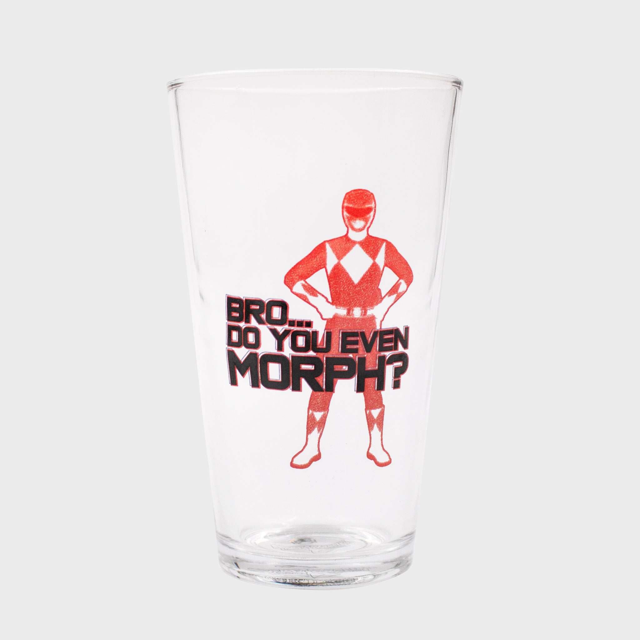 power rangers mighty morphin mmpr 90s kids red ranger exclusive gamestop retail box collectibles culturefly pint glass kitchenware drinkware
