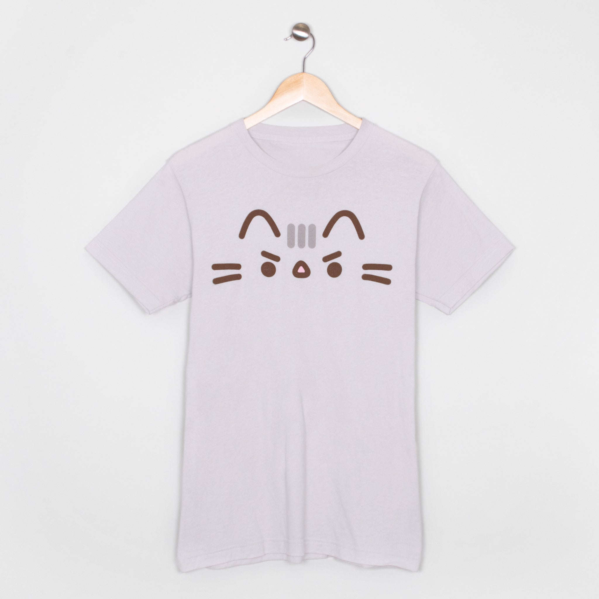 pusheen angry cute cat face short sleeve apparel t-shirt shirt culturefly