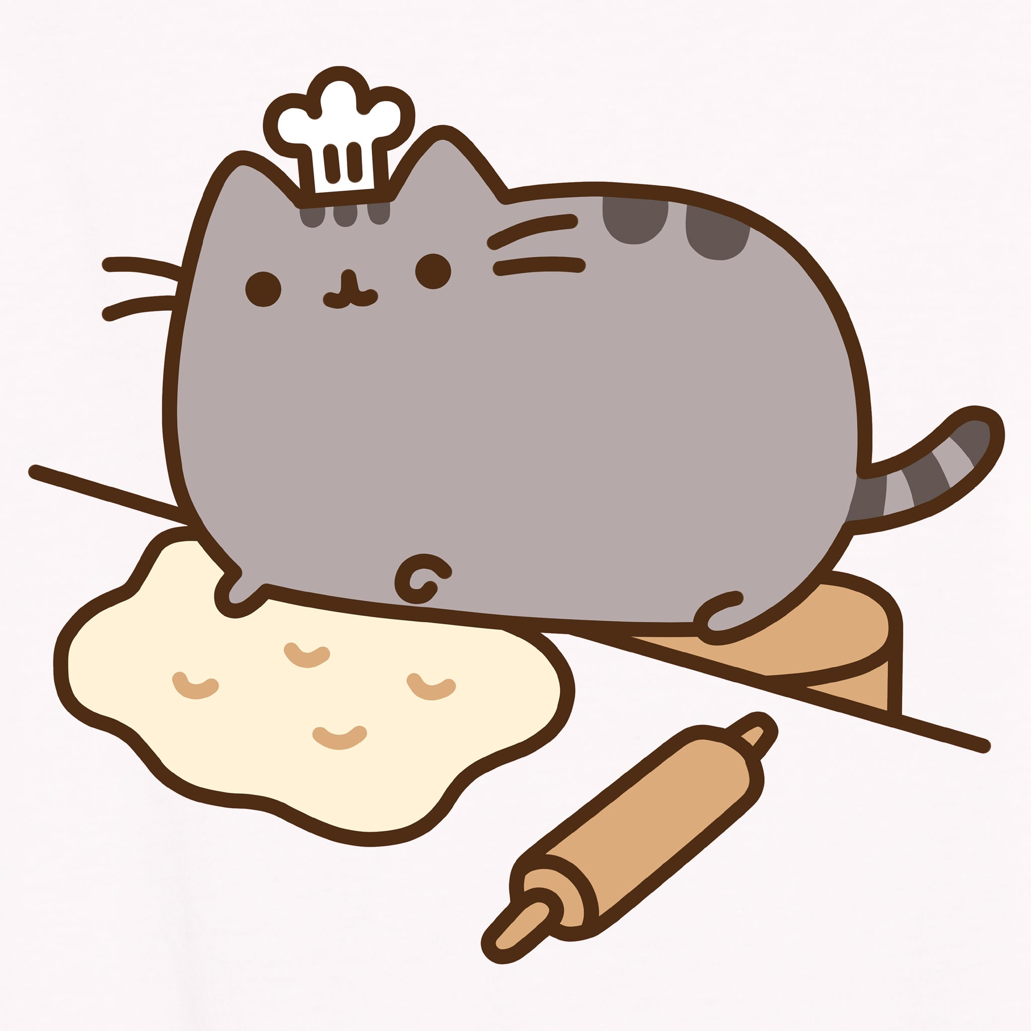 pusheen baking apparel t-shirt graphic shirt baker cute cat culturefly