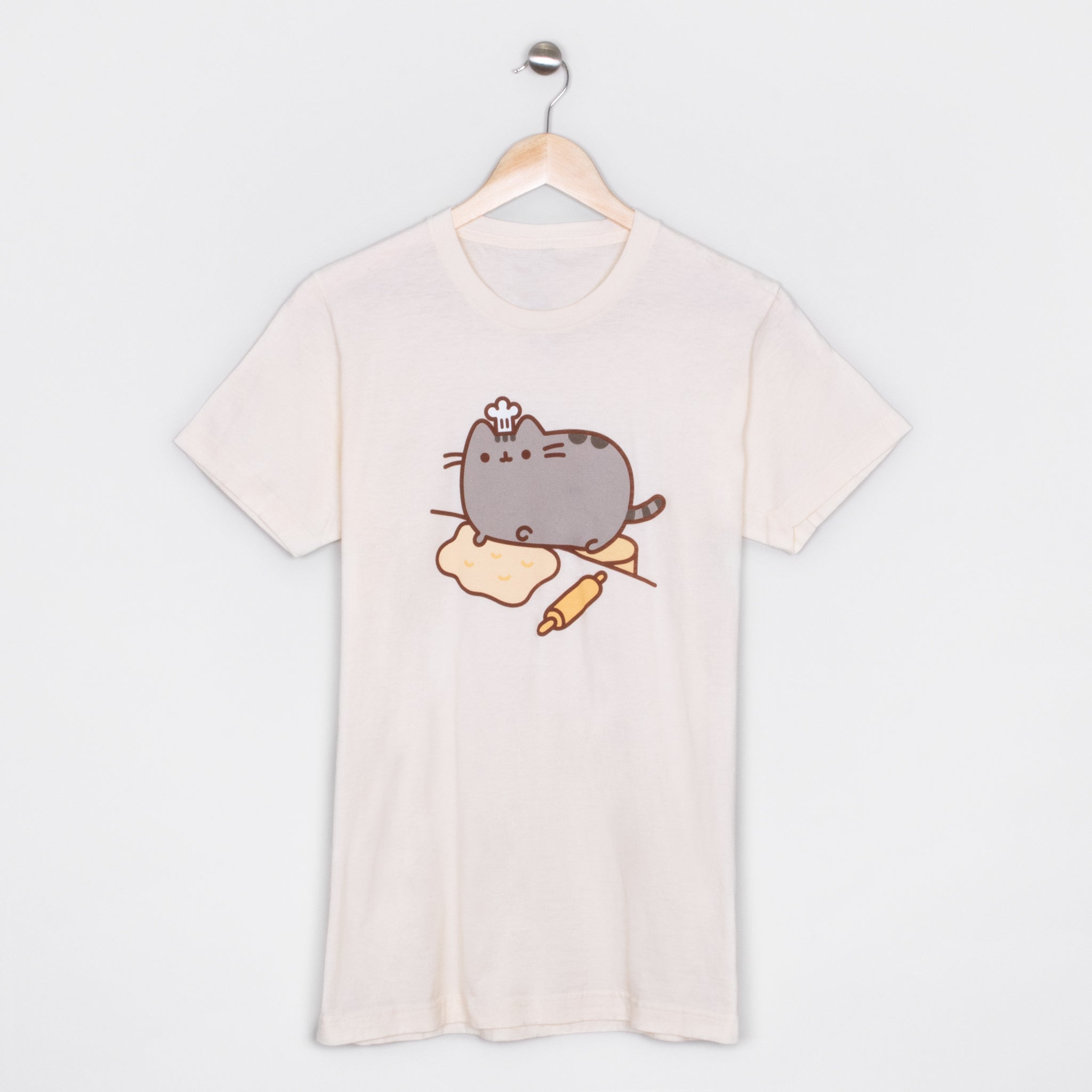 pusheen baking apparel t-shirt shirt baker cute cat culturefly