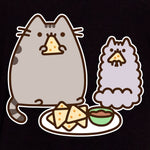 pusheen nachos stormy food cheese chips snack graphic t-shirt shirt apparel cute cat culturefly