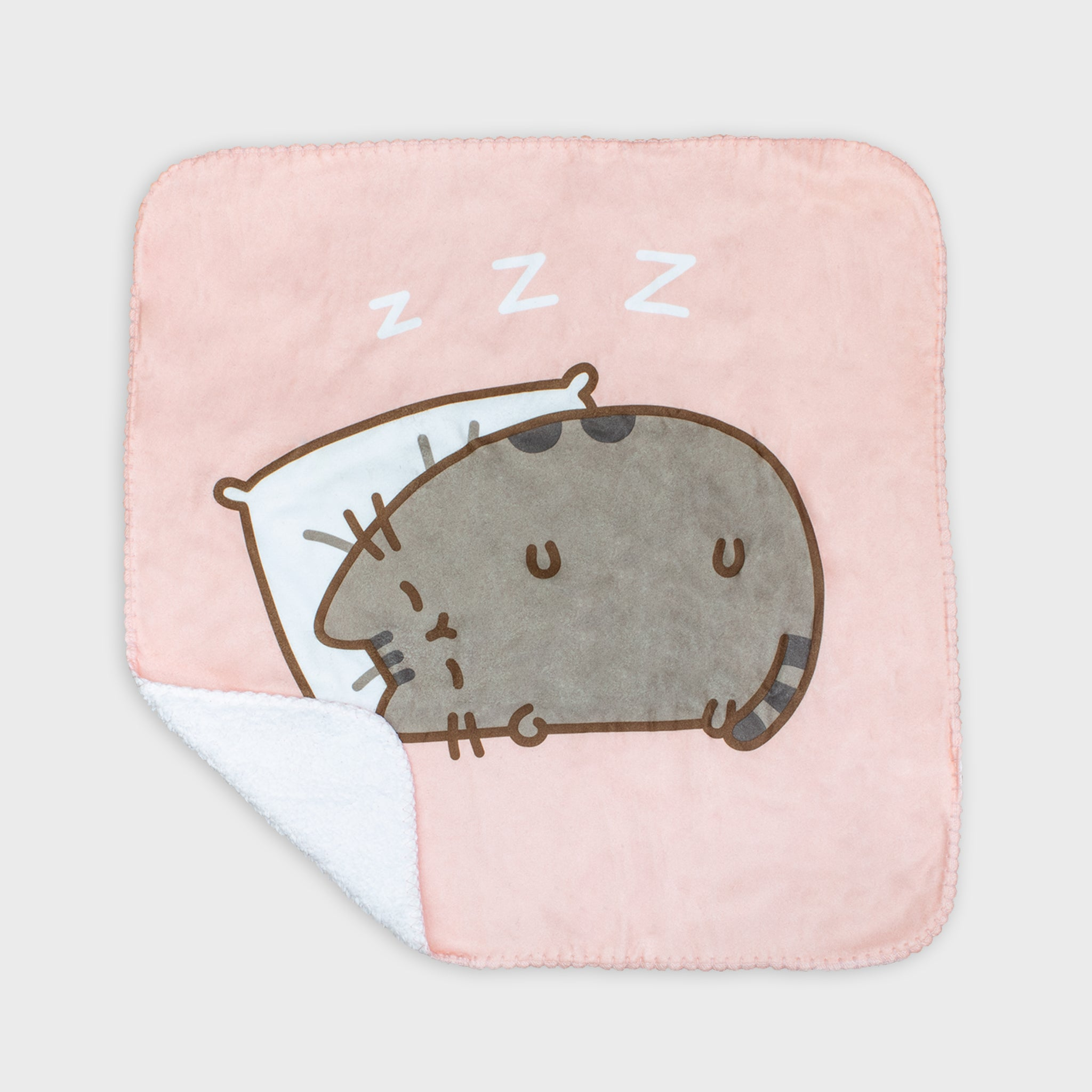 pusheen blanket napping sleep cute cat culturefly