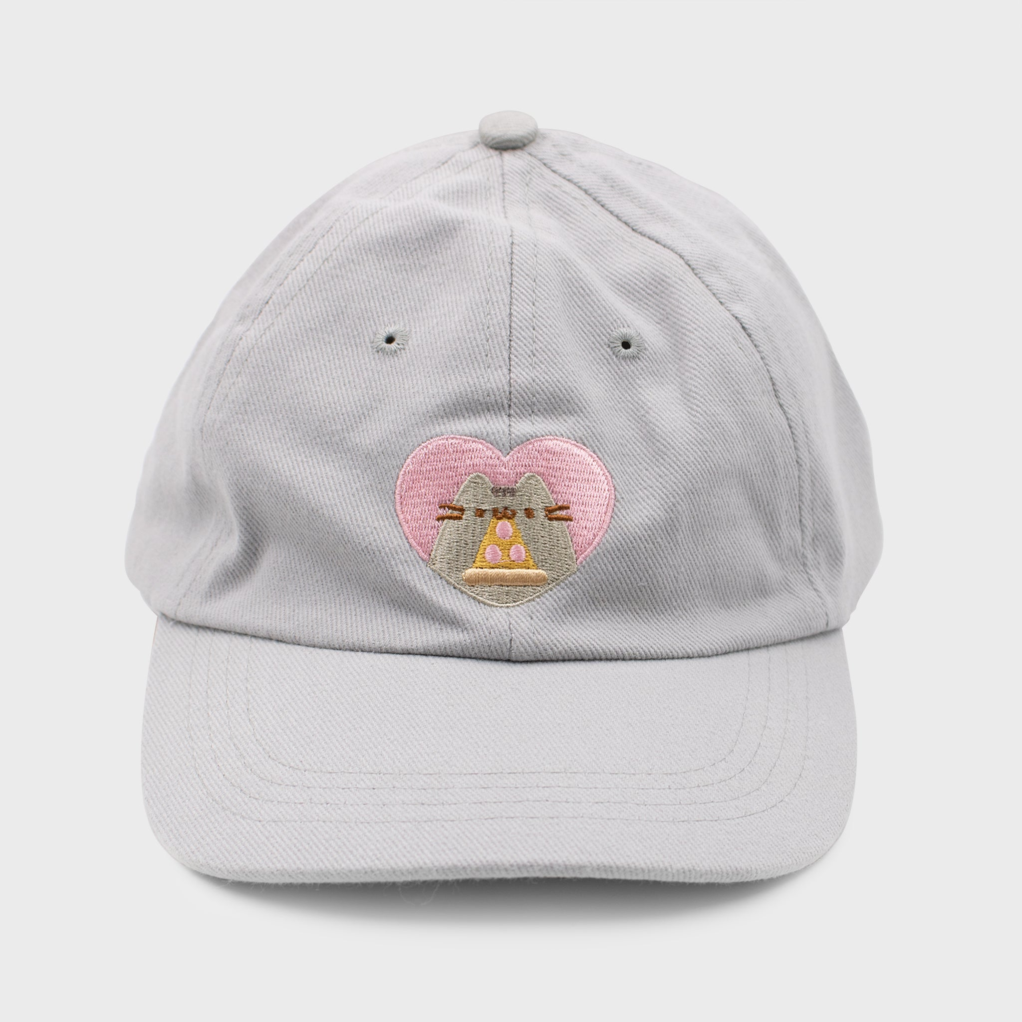 pusheen cap hat baseball cap dad hat pizza love cute cat culturefly