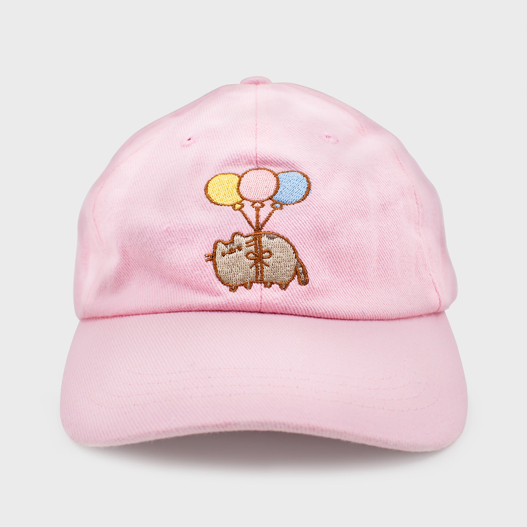 pusheen cap hat baseball cap dad hat pink balloons cute cat culturefly