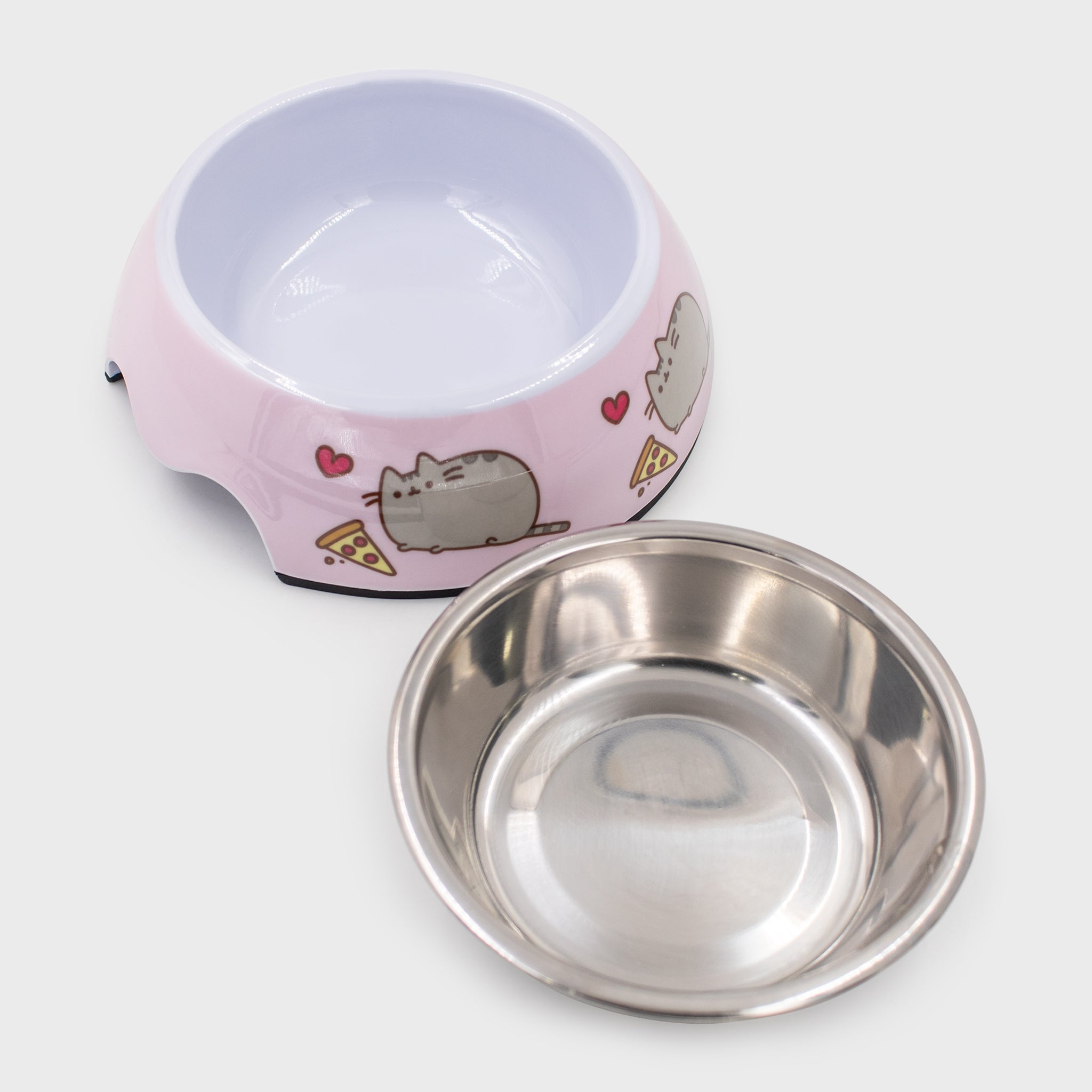 pusheen food bowl pet dog cat cute culturefly