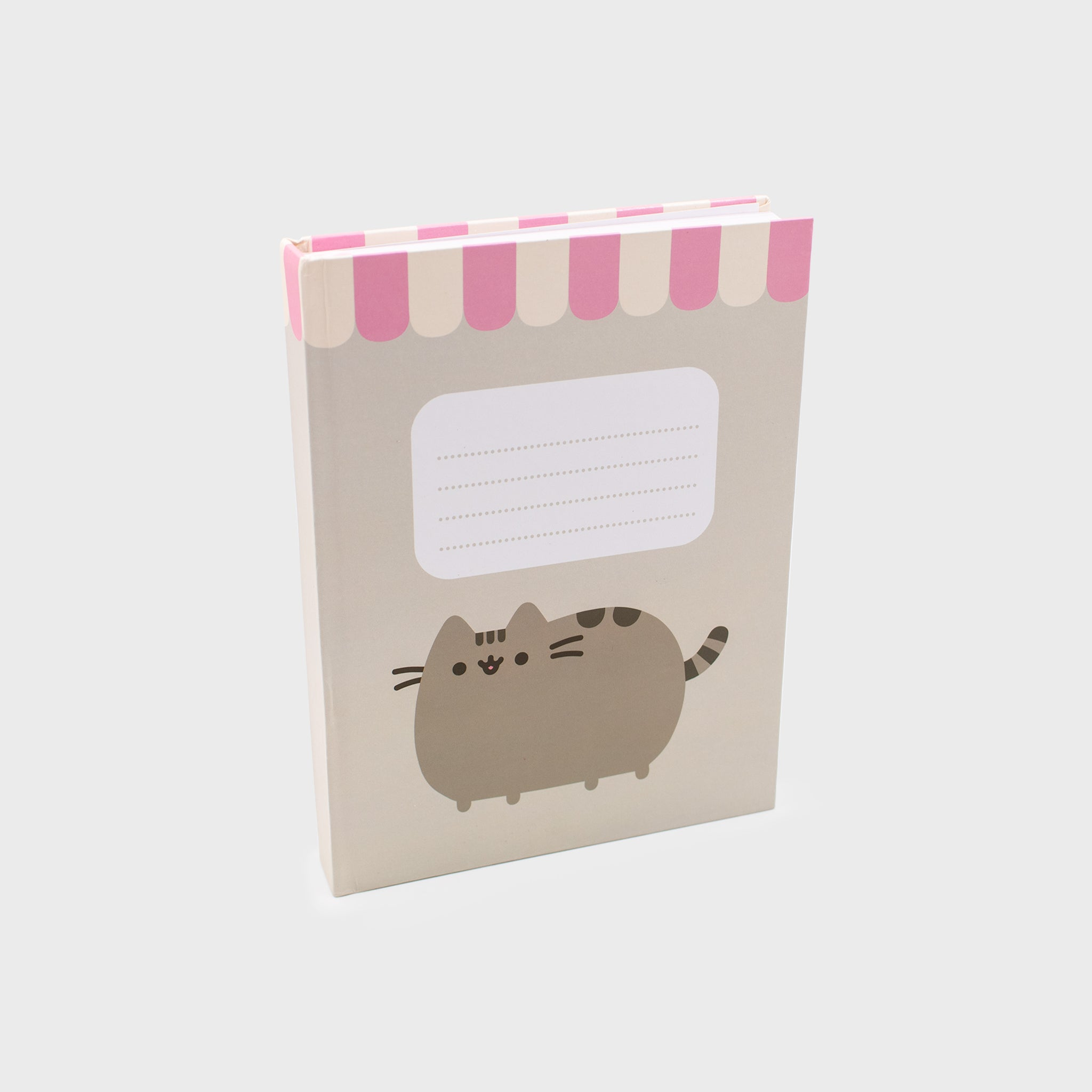 pusheen notebook book back to school journal diary cute cat culturefly