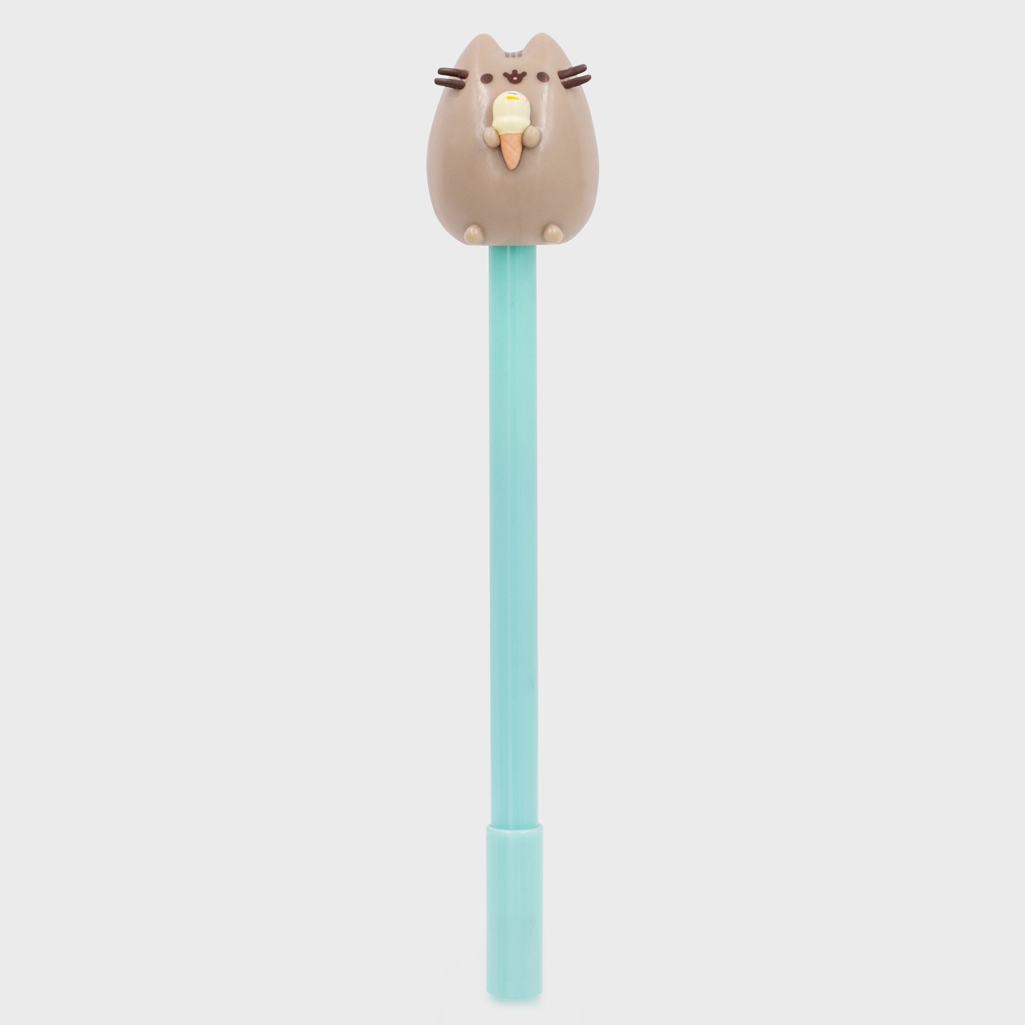 pusheen pen writing pen topper ice cream back to school cute cat culturefly