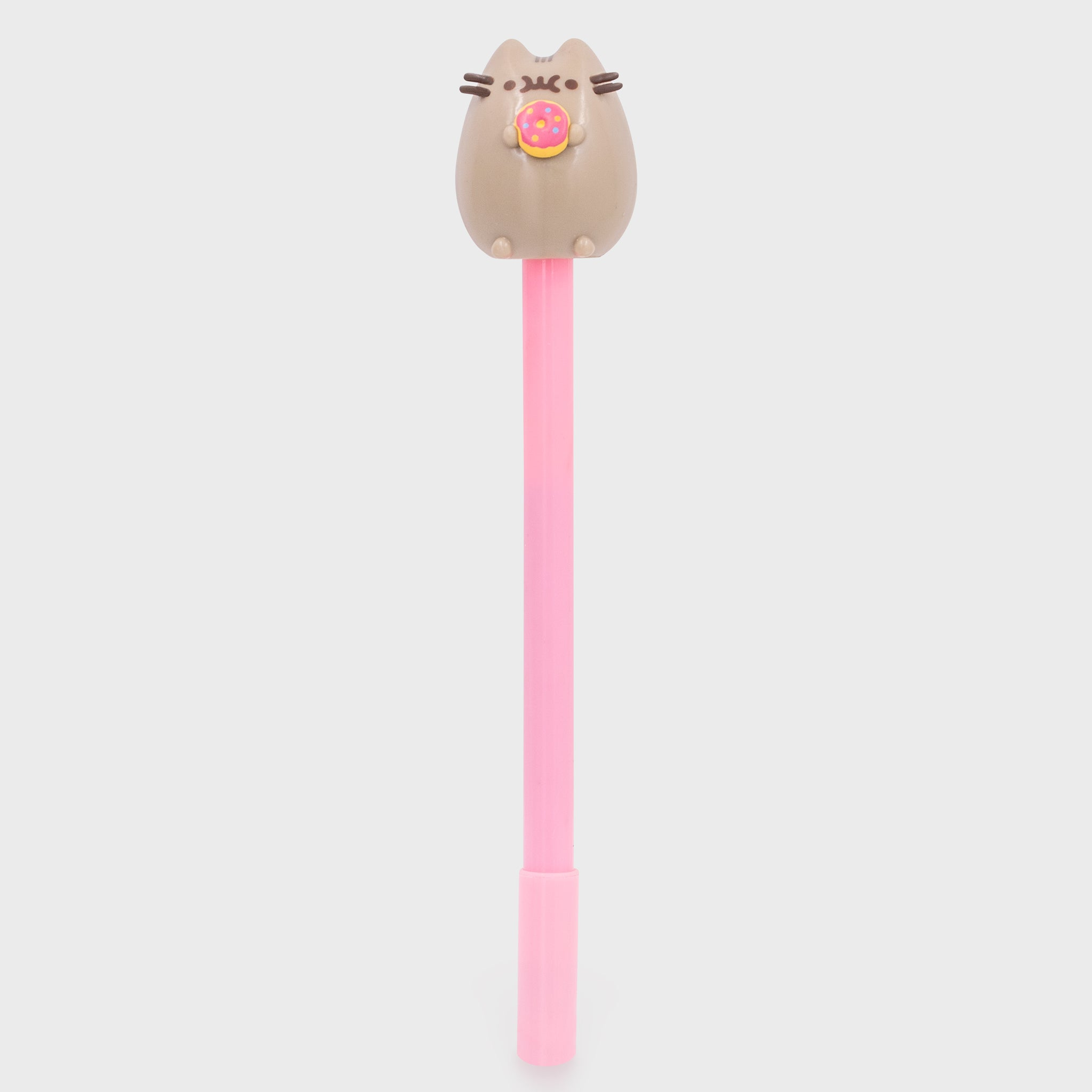 pusheen pen writing pen topper donut back to school cute cat culturefly