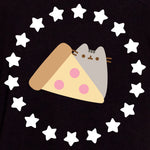 pusheen t-shirt shirt apparel pizza graphic cute cat culturefly
