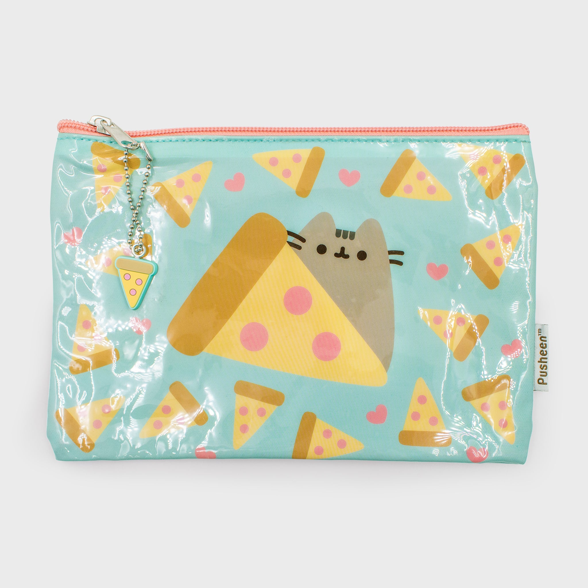 pusheen pencil pouch pencil bag pizza back to school cute cat culturefly