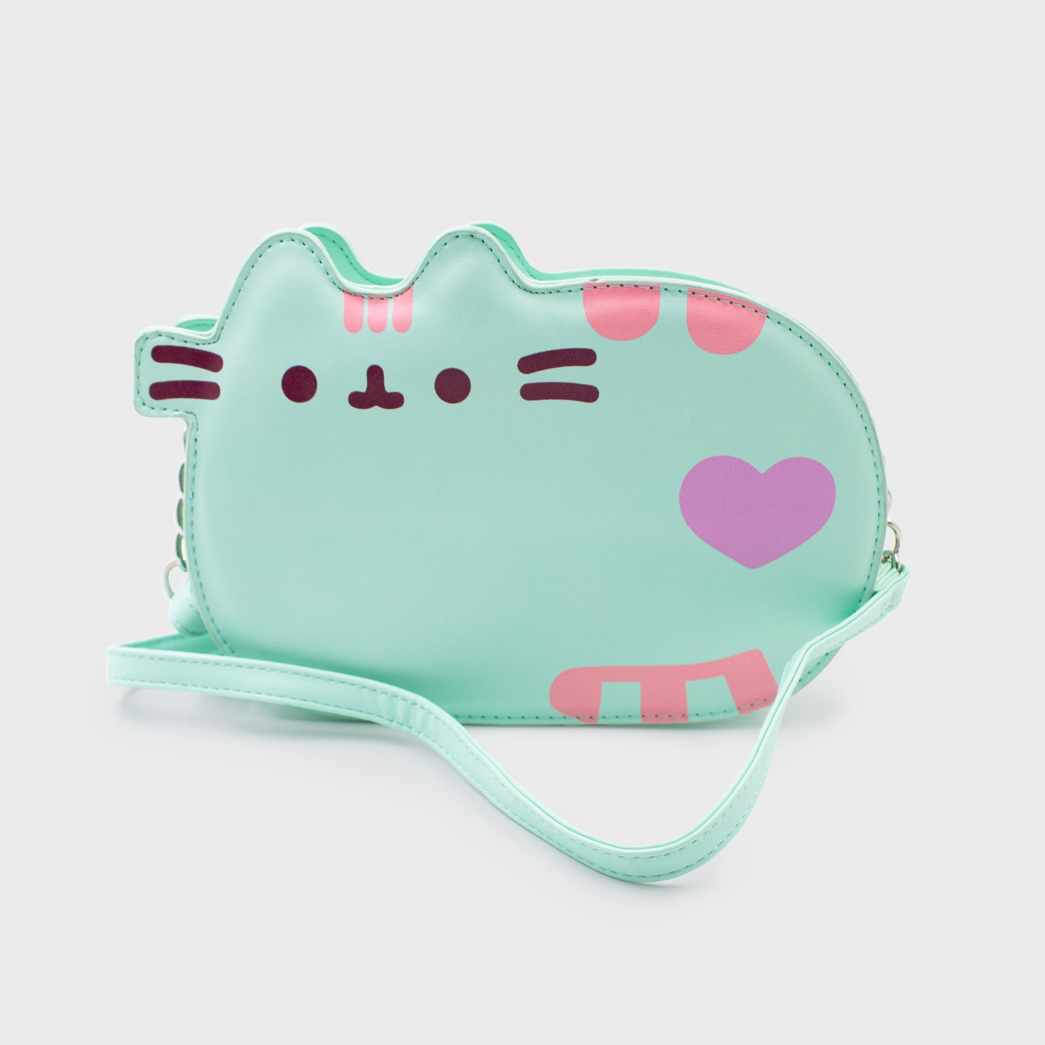 pusheen mint bag purse crossbody pocketbook cute cat culturefly