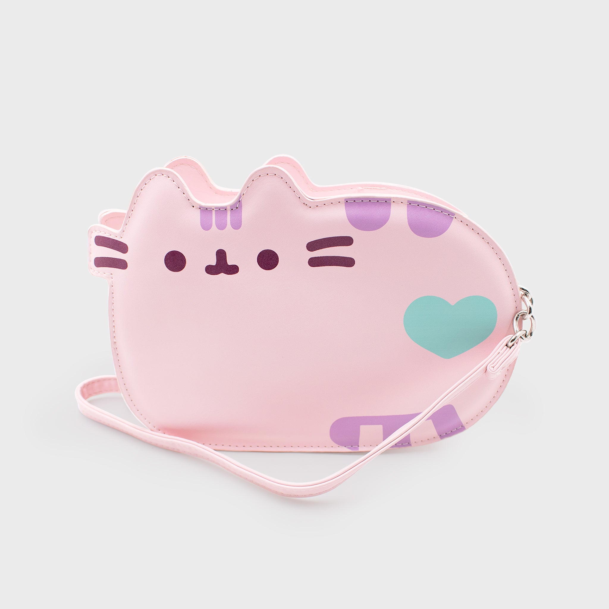 pusheen pink bag purse crossbody pocketbook cute cat culturefly