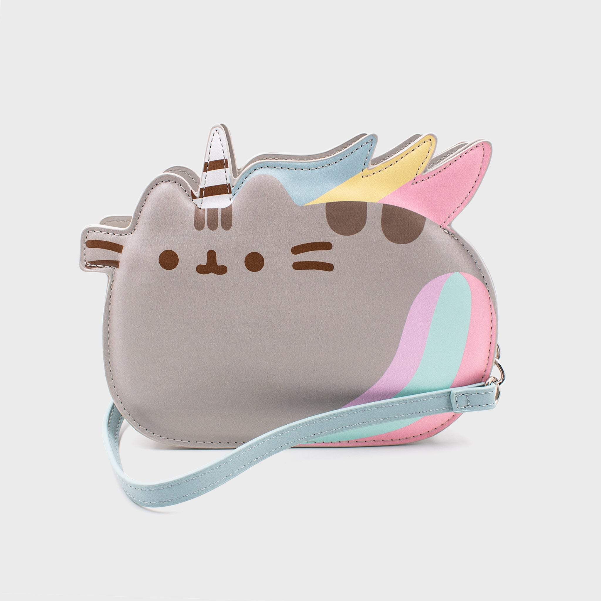 pusheen unicorn pusheenicorn purse crossbody pocketbook cute cat culturefly