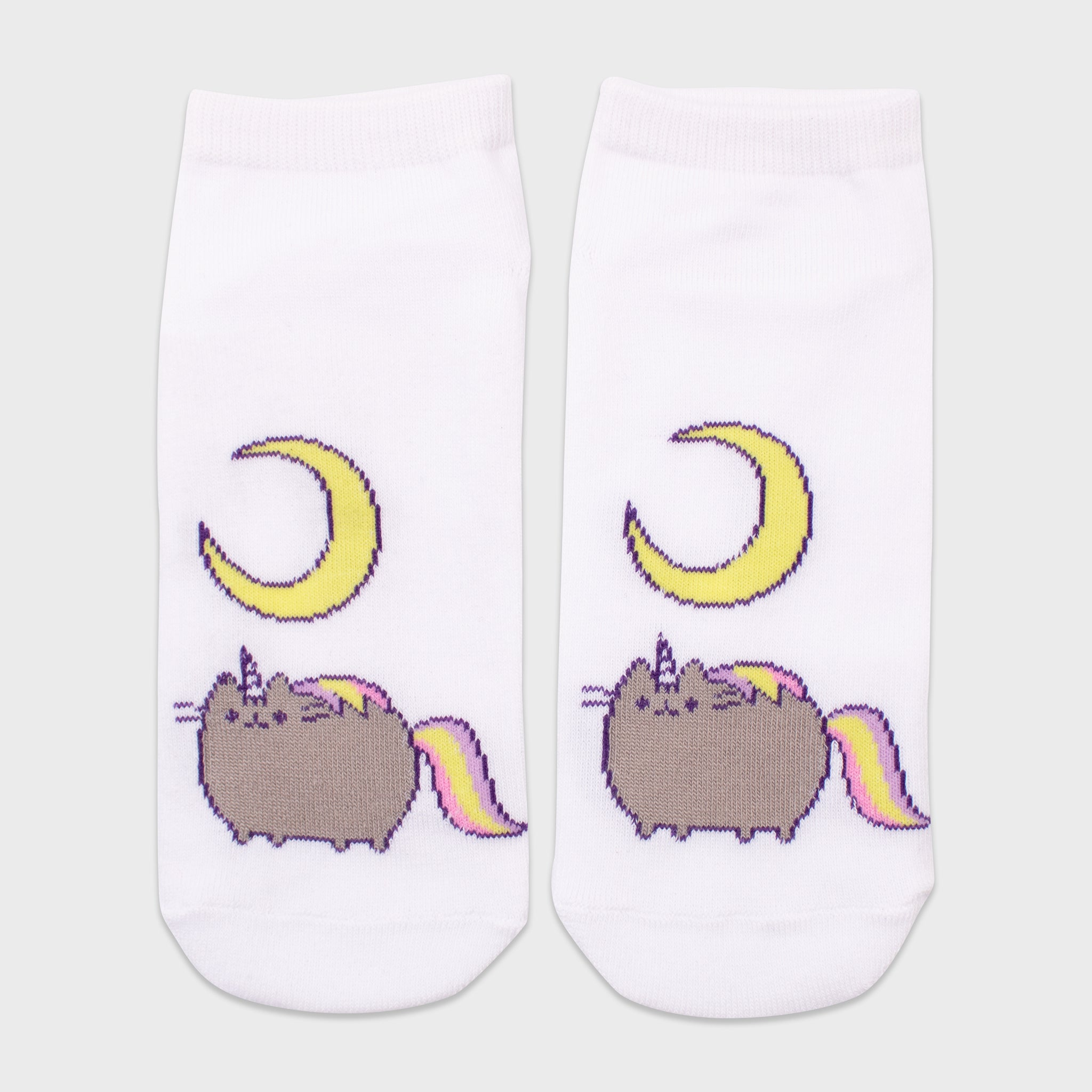 pusheen socks 2 pack pair unicorn pusheenicorn pink apparel accessory cute cat culturefly