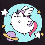 pusheen t-shirt shirt apparel unicorn pusheenicorn space mystical graphic cute cat culturefly