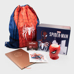 spider-man marvel ps4 superhero marvel entertainment spiderman peter parker exclusive walmart retail box collectibles accessories culturefly