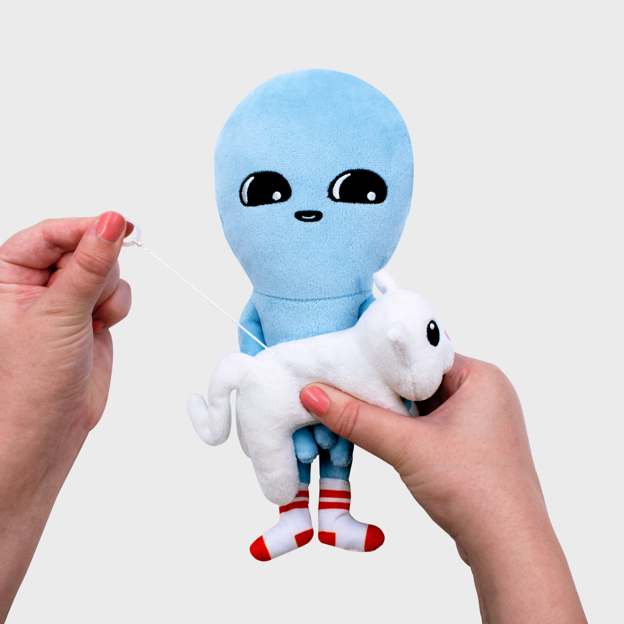 Strange Planet Being and Vibrating Creature Plush