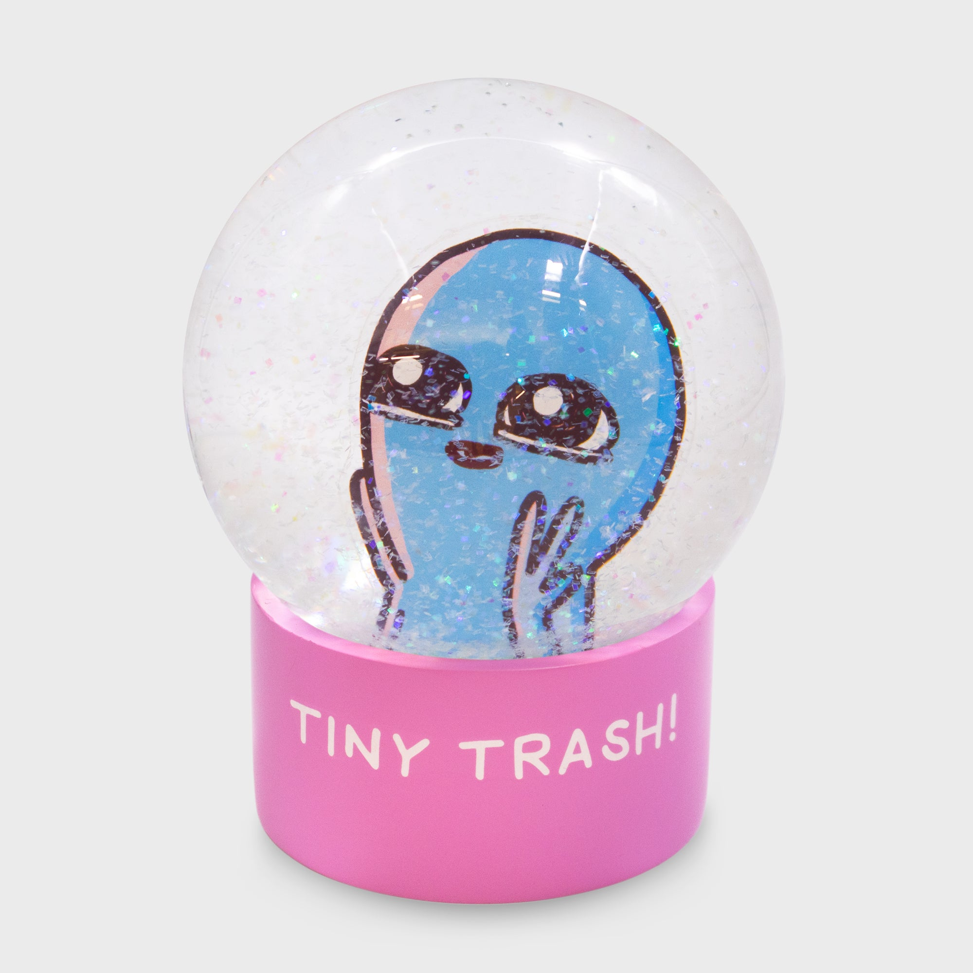 Strange Planet Tiny Trash Snowglobe