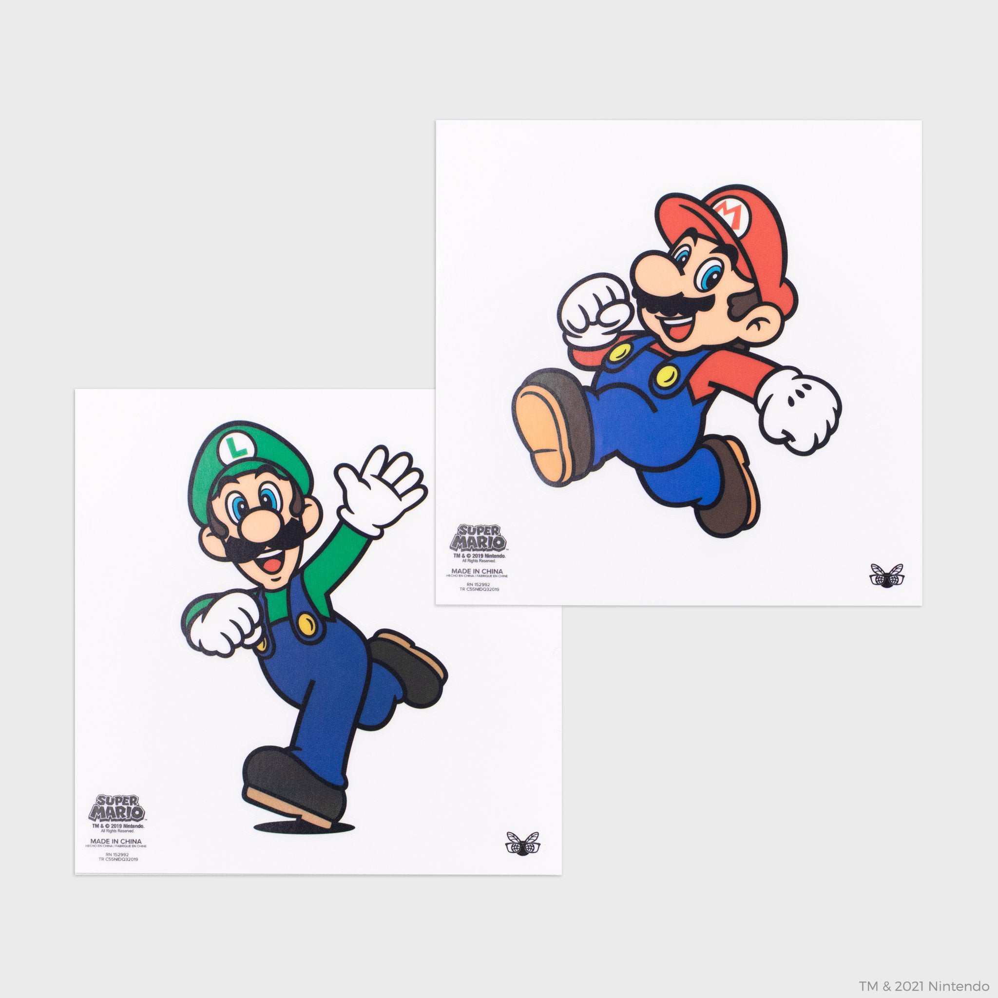 super mario nintendo mario luigi collector's box collectible exclusive stickers culturefly