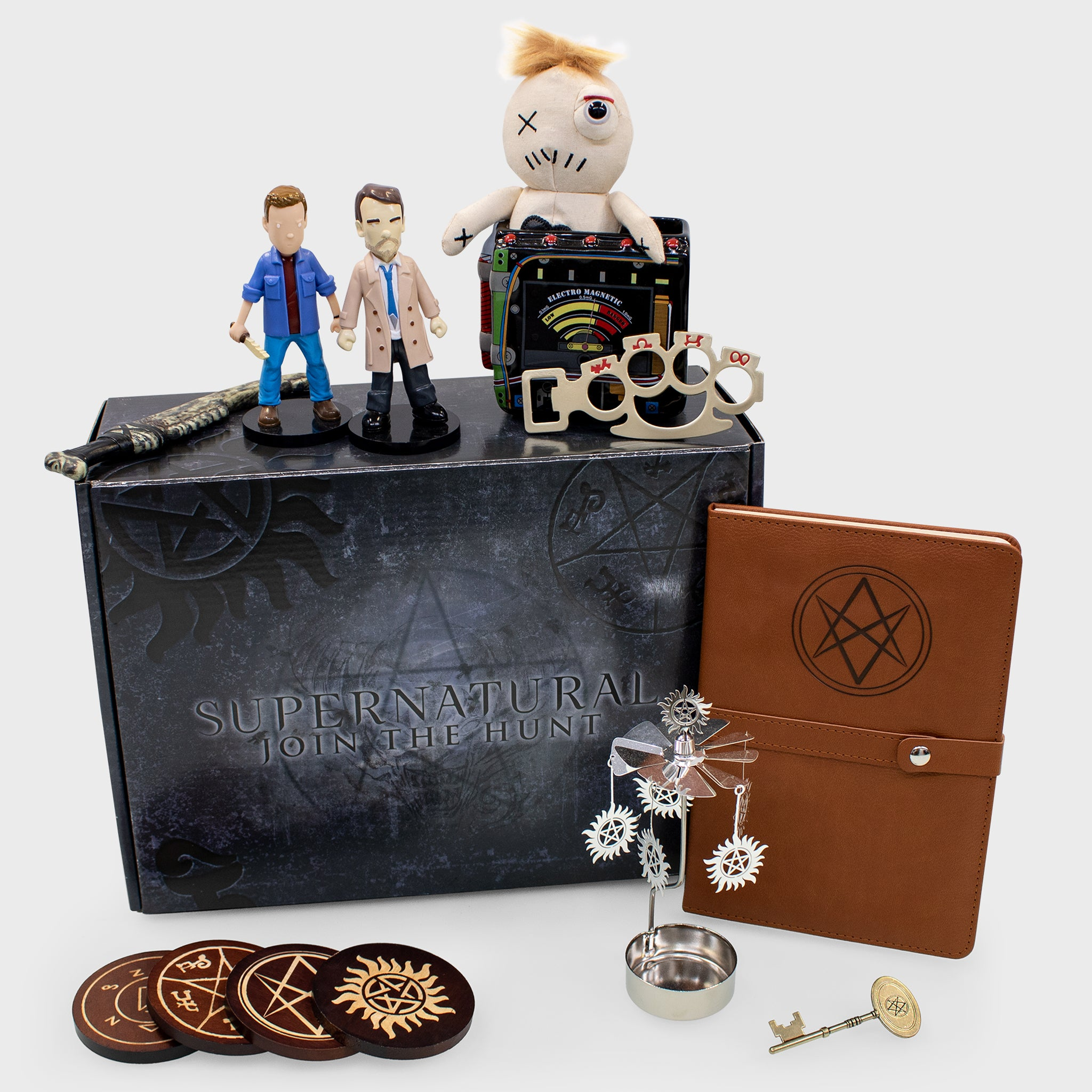 supernatural box subscription quarterly dean winchester sam winchester castiel collectible exclusive fans spn spnfamily culturefly