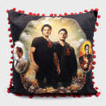 supernatural box dean winchester sam winchester castiel collectible exclusive fans spn spnfamily throw pillow case