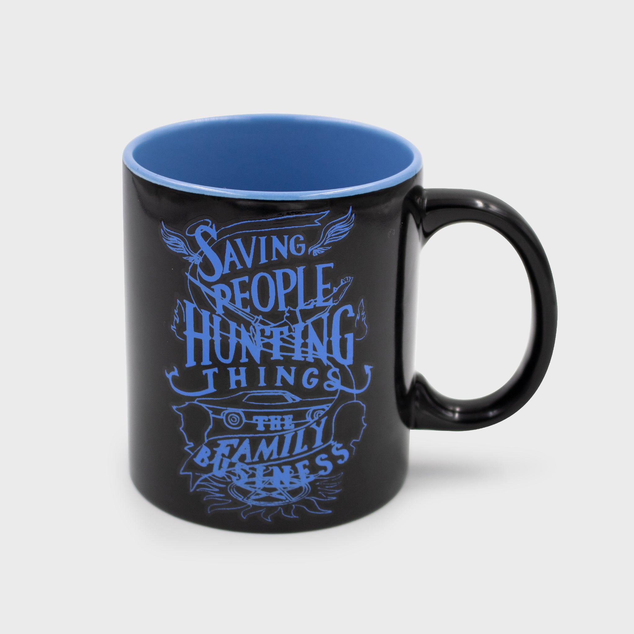 supernatural box dean winchester sam winchester castiel collectible exclusive fans spn spnfamily mug kictchenware