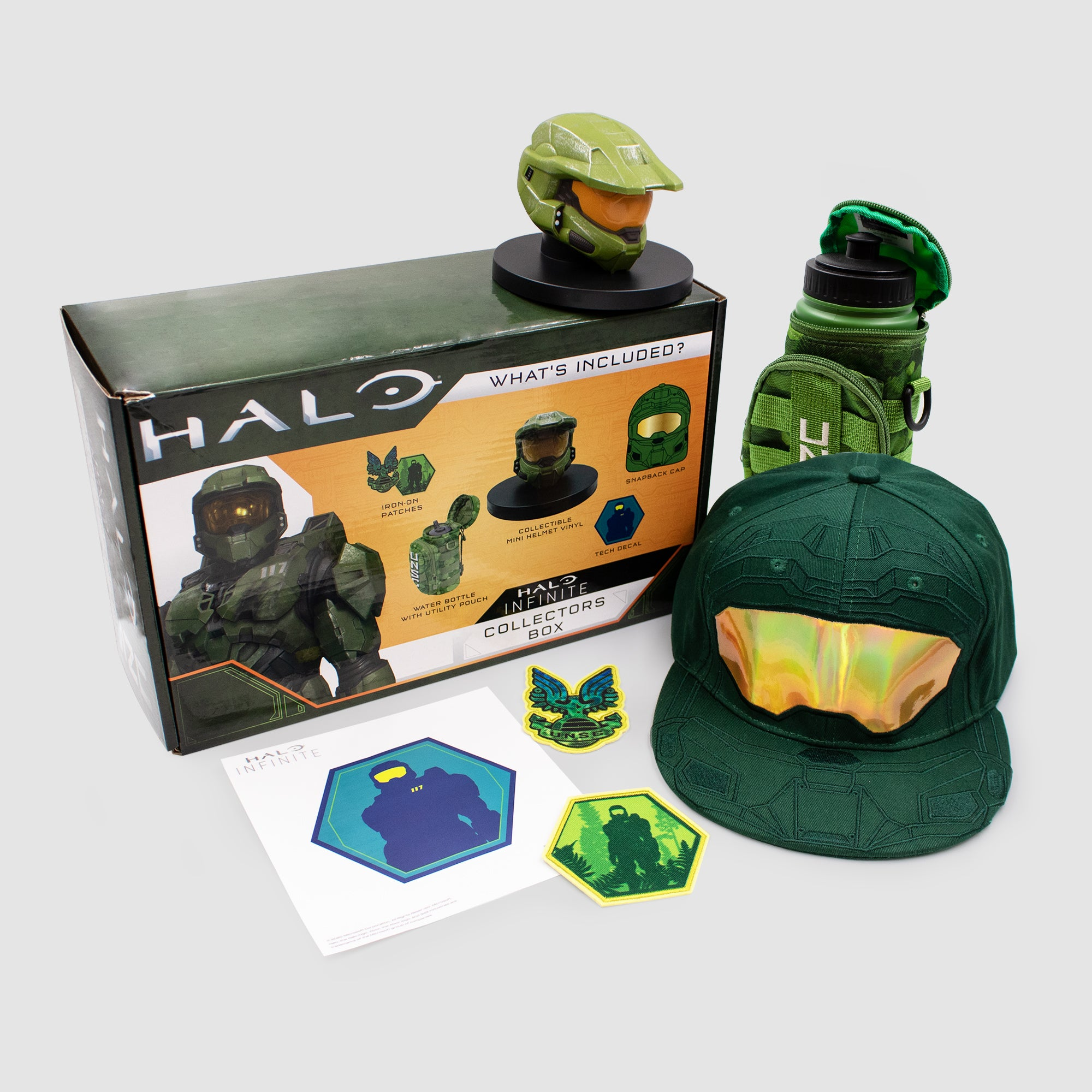 halo infinite master chief video games exclusive collectibles collection gaming culturefly