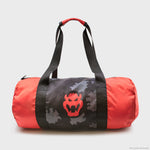 nintendo video game super mario bros bowser collector's box exclusive collectible culturefly duffel bag gym bag accessory