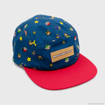 mario kart nintendo video games racing collector's box exclusive collectible culturefly 5-panel hat cap headwear