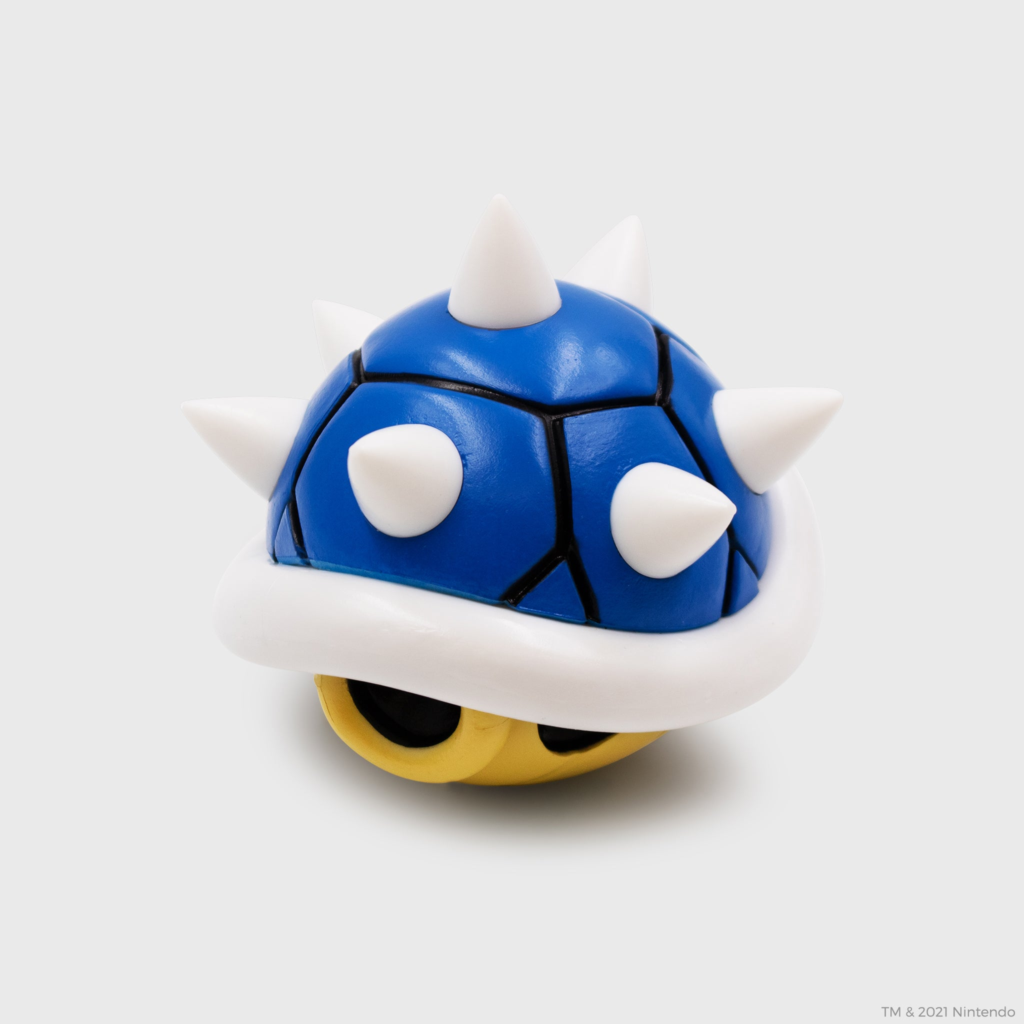 mario kart nintendo video games racing collector's box exclusive collectible culturefly blue shell koopa figurine