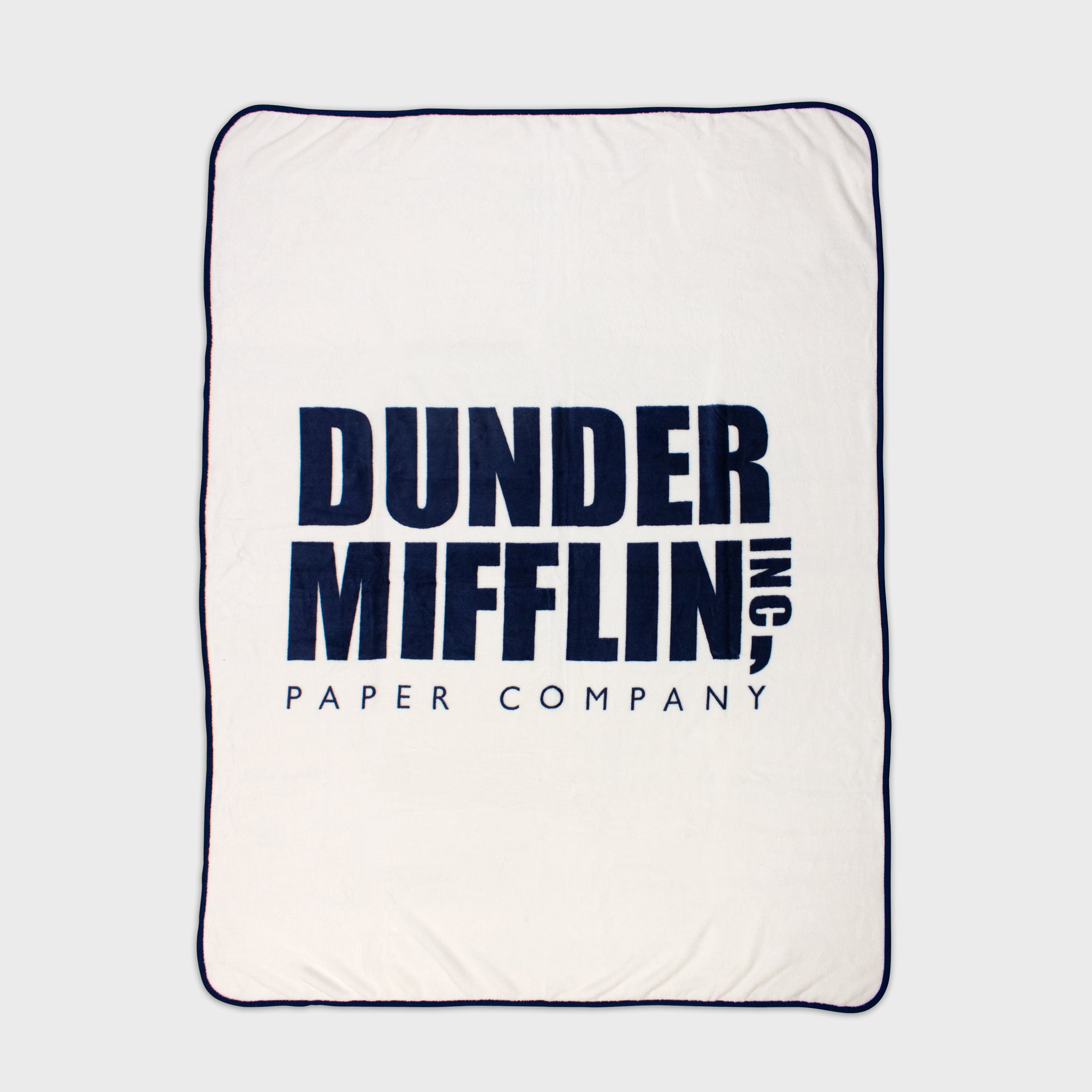 blanket throw blanket plush soft the office dunder mifflin homegood culturefly